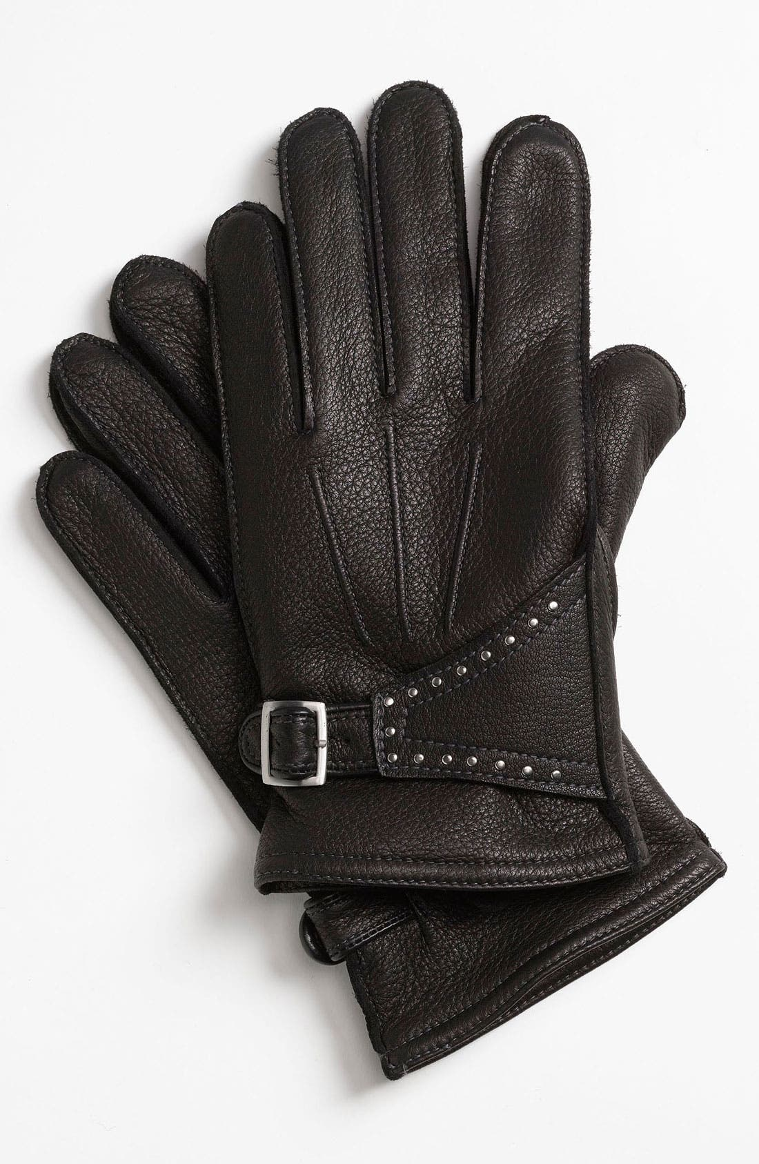 Alternate Image 1 Selected - John Varvatos Star USA Deerskin Gloves