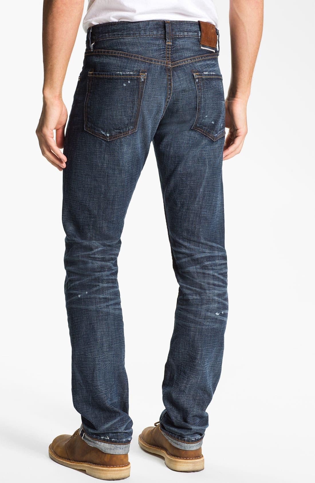 Alternate Image 2  - J Brand 'Kane' Slim Straight Leg Jeans (Memento)