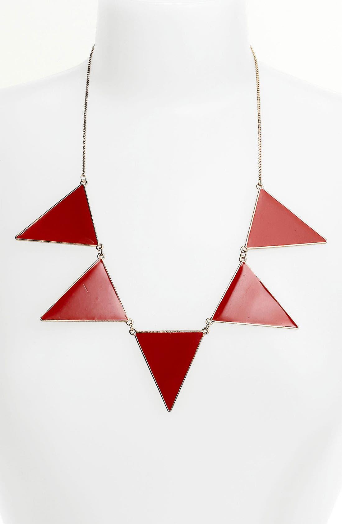 Main Image - True Birds Triangle Statement Necklace