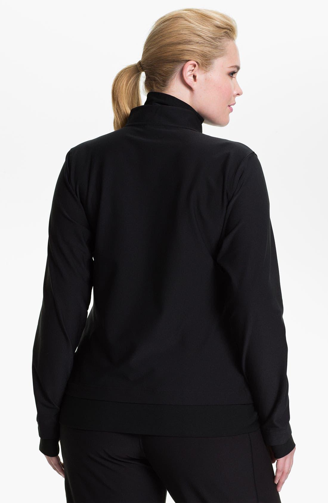 Alternate Image 2  - Nike 'Poly Central' Jacket (Plus Size)