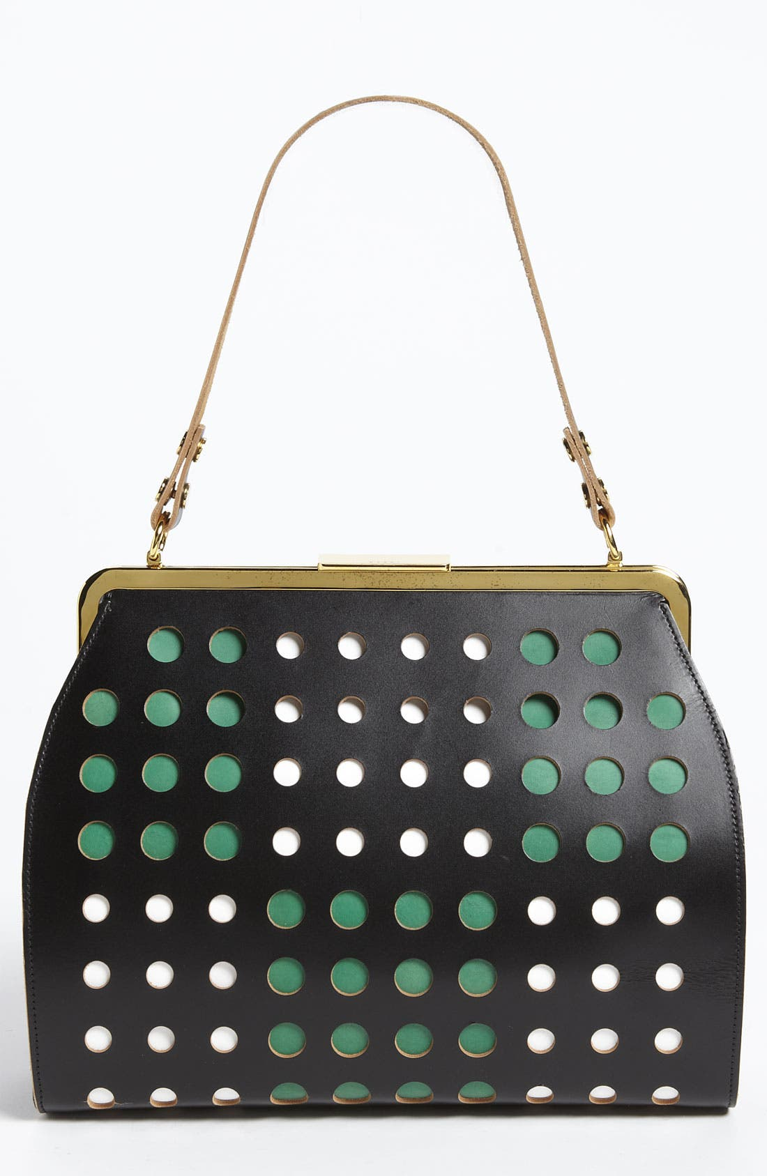 Alternate Image 1 Selected - Marni Polka Dot Frame Handbag