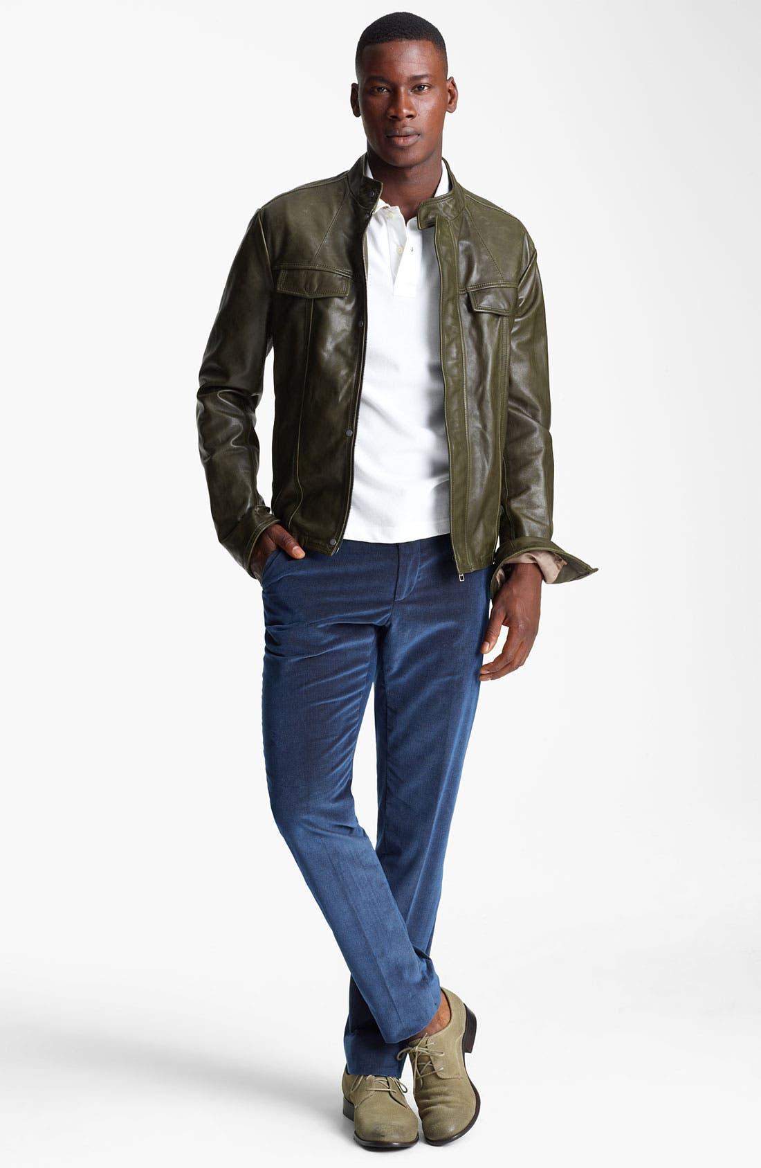 Alternate Image 4  - Etro Leather Moto Jacket