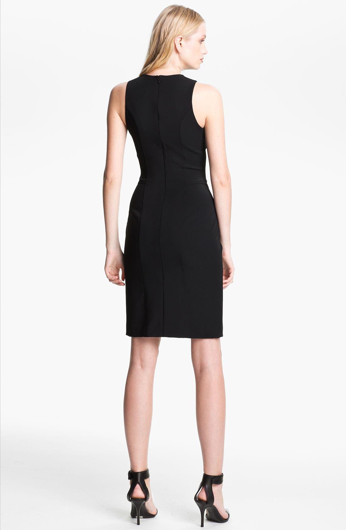 Alternate Image 2  - Alexander Wang Sleeveless Fitted Dress
