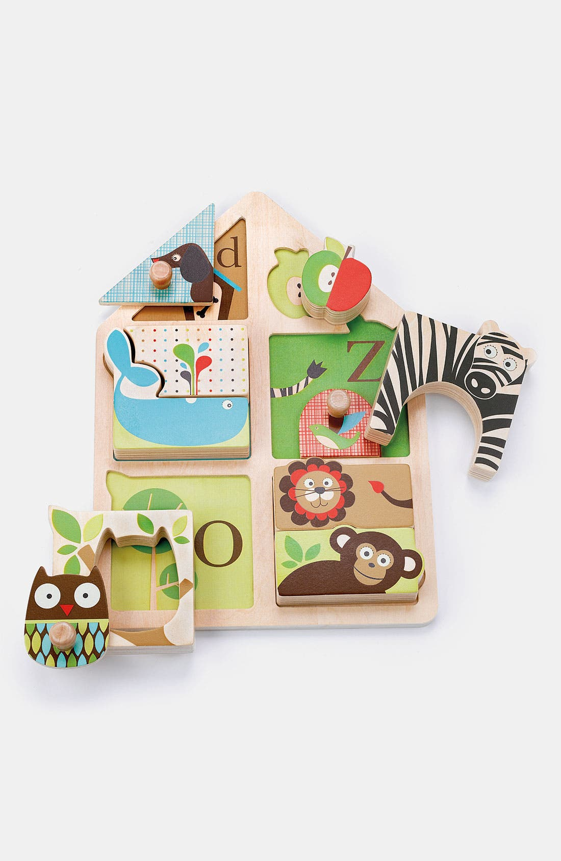 Main Image - Skip Hop 'Alphabet Zoo' Match & Play Puzzle