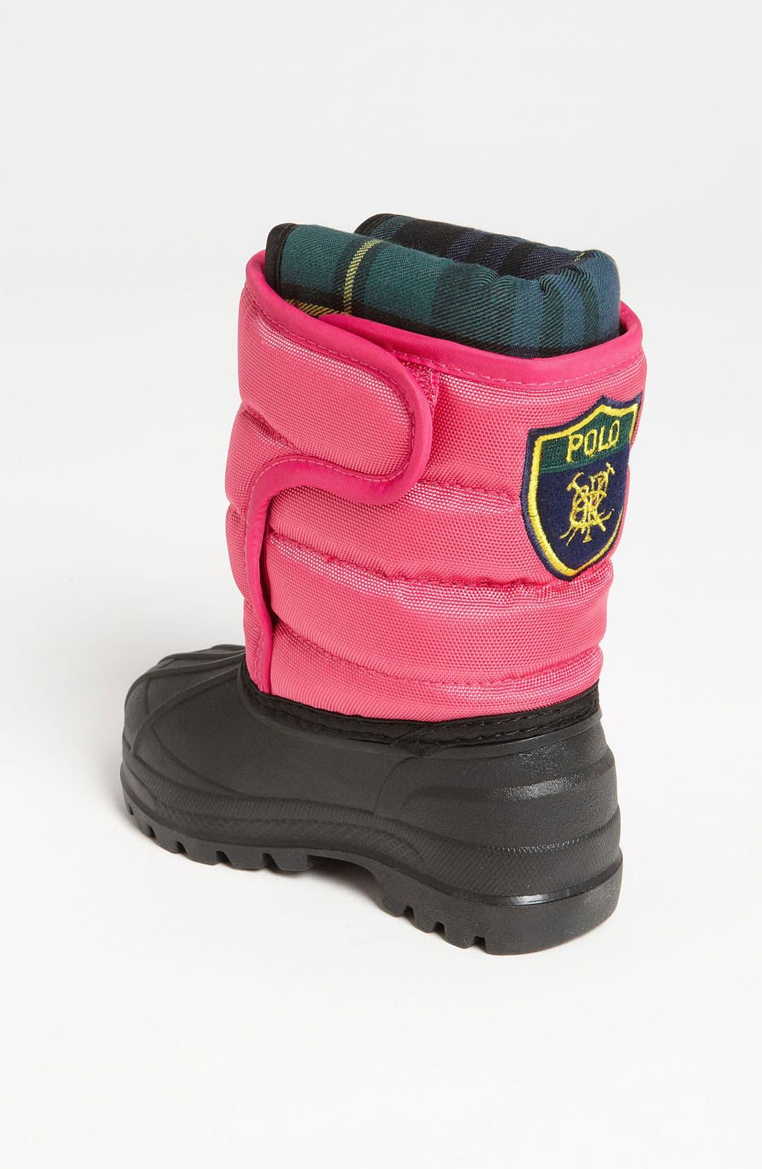 Alternate Image 2  - Polo Ralph Lauren Waterproof Duck Boot (Baby, Walker, Toddler & Big Kid)