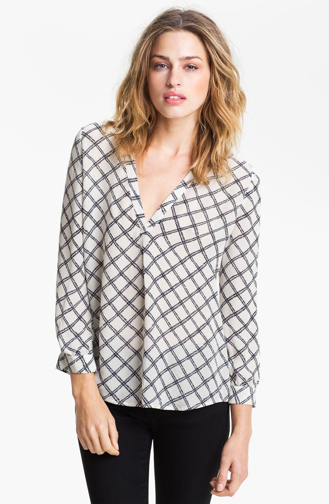 Alternate Image 1 Selected - Joie 'Lerona' Print Silk Shirt