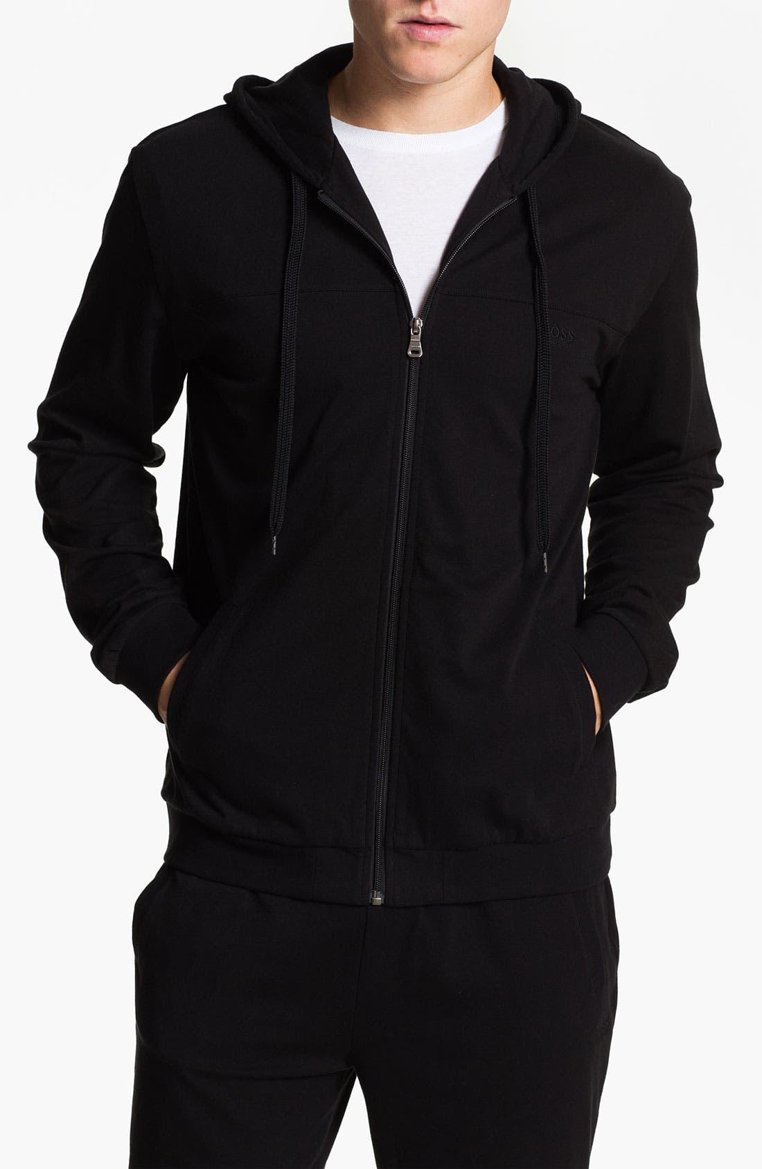 Main Image - BOSS Black 'Innovation 3' Zip Hoodie