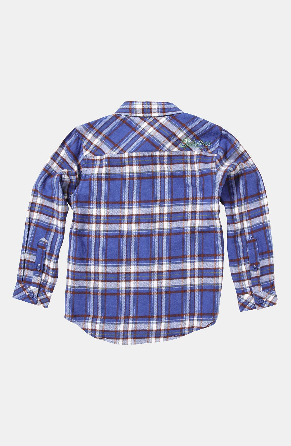 Alternate Image 2  - Quiksilver 'Bunga Bunga' Woven Shirt (Little Boys)