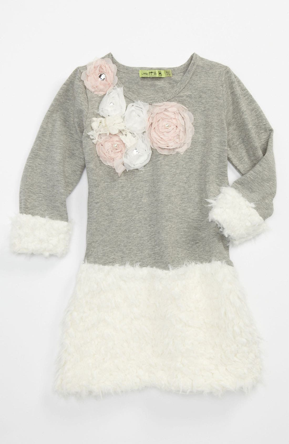 Main Image - Little Mass 'Winter in Paris' Dress (Toddler)