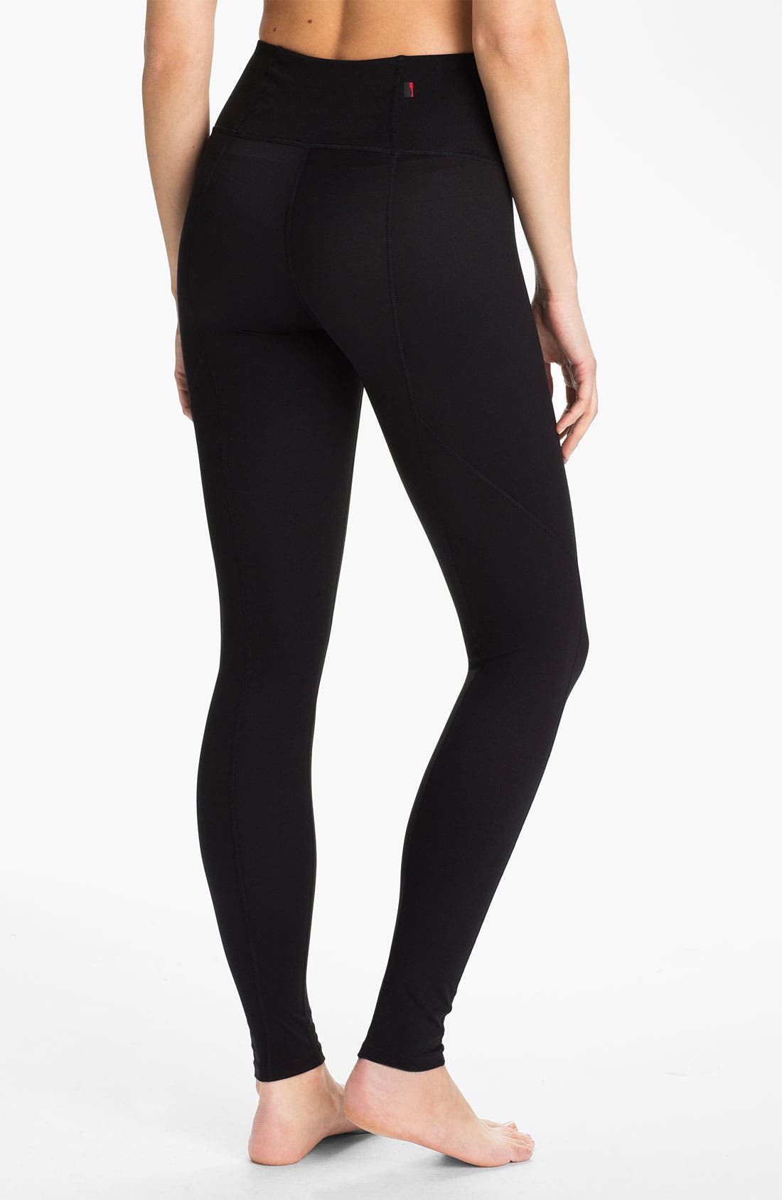 Alternate Image 2  - SPANX® Shaping Compression Activewear Leggings