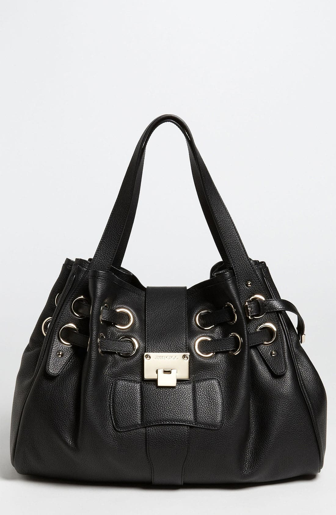 Alternate Image 1 Selected - Jimmy Choo 'Ramona' Leather Shopper