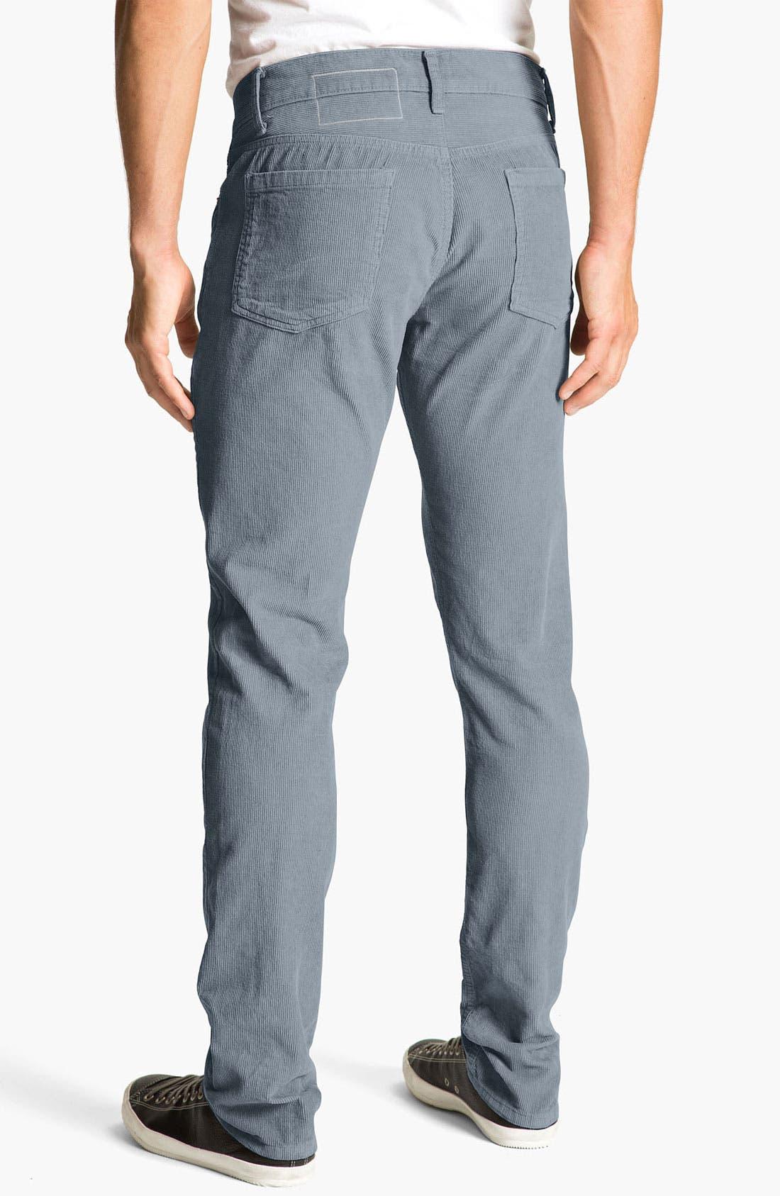 Alternate Image 1 Selected - Splendid Mills 'Huxley' Slim Straight Leg Corduroy Pants