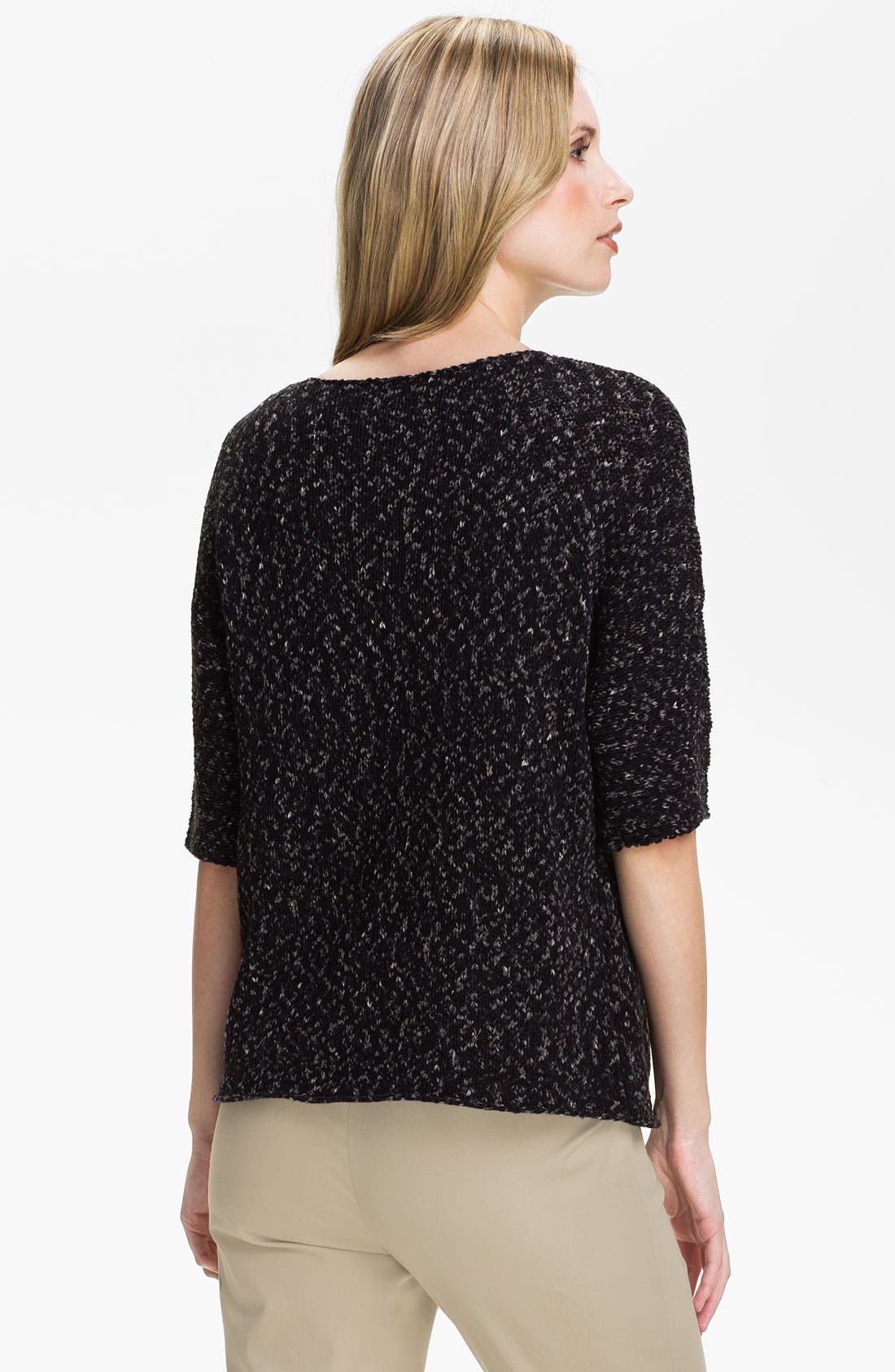 Alternate Image 2  - Lafayette 148 New York Elbow Sleeve Sweater