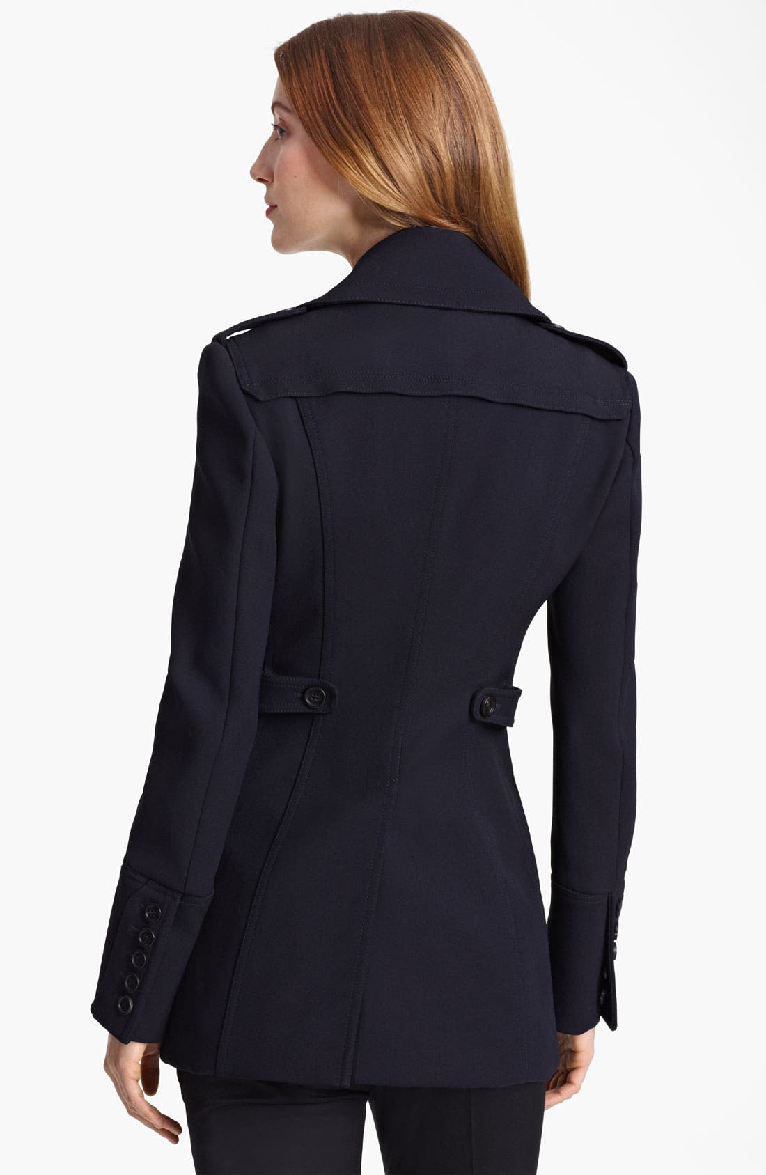 Alternate Image 2  - Burberry Prorsum Double Breasted Peacoat