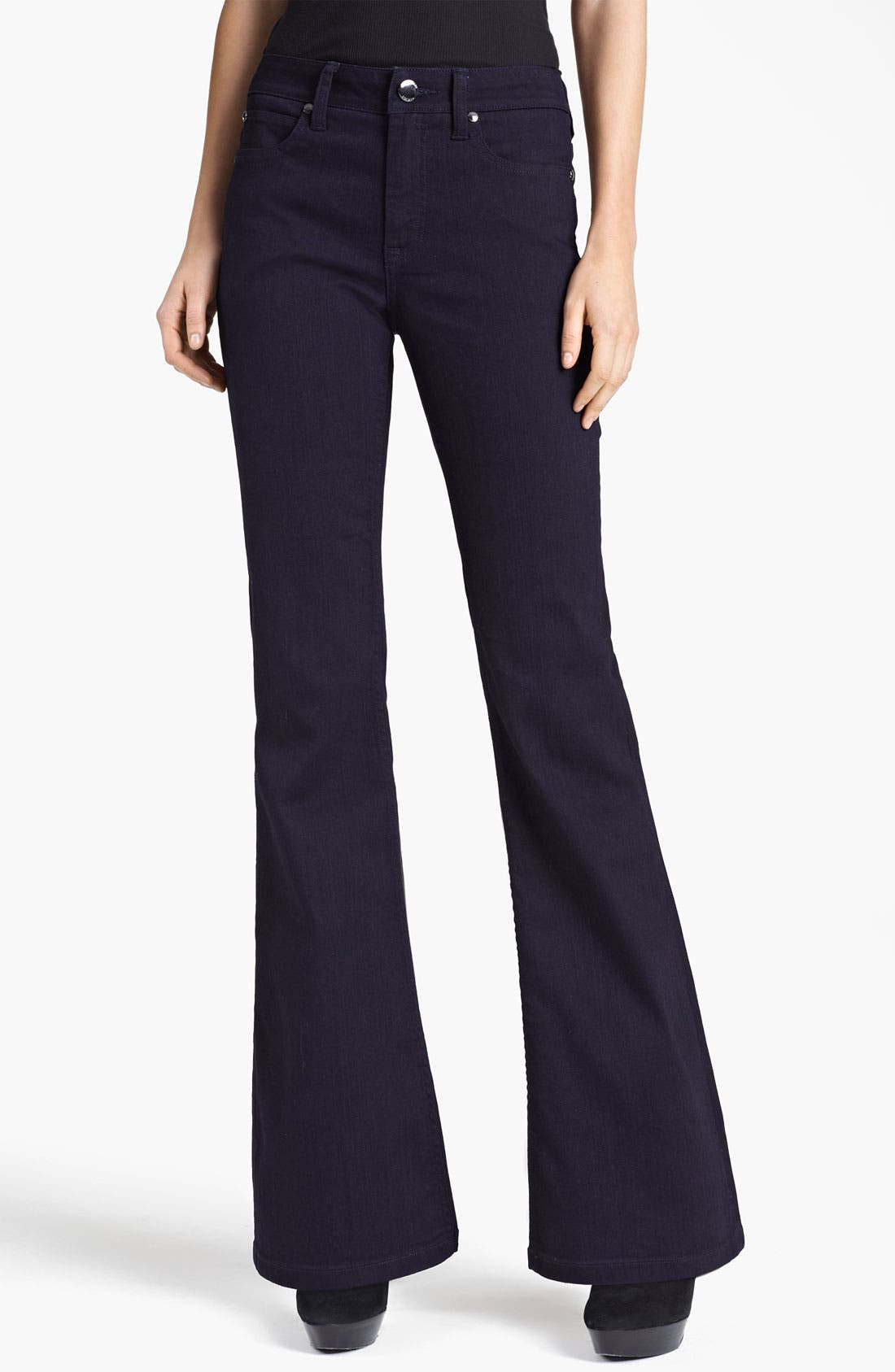 Alternate Image 1 Selected - Burberry London Flared Stretch Jeans