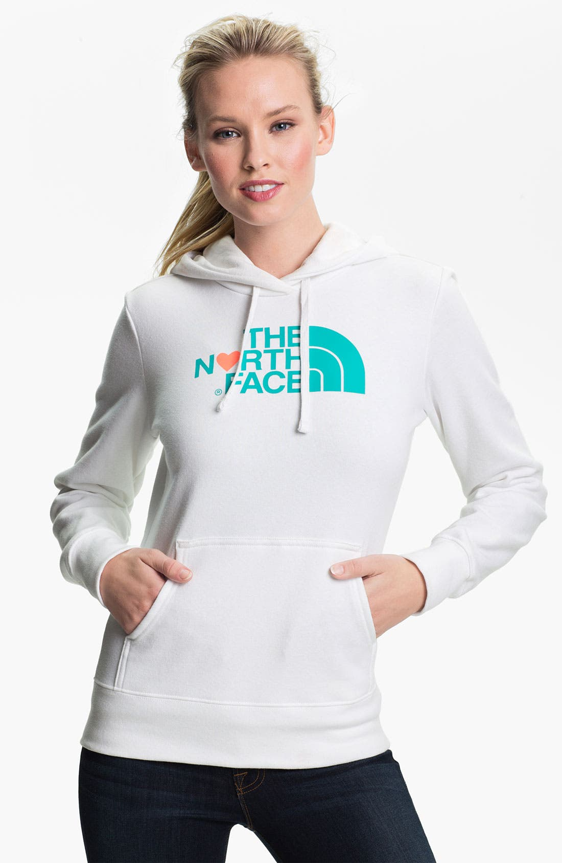 Alternate Image 1 Selected - The North Face 'Logo Love' Hoodie