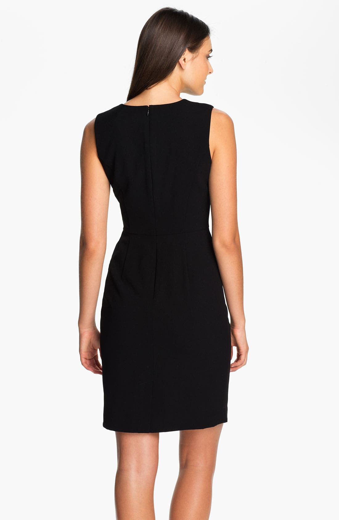 Alternate Image 2  - Calvin Klein Drape Waist Sheath Dress