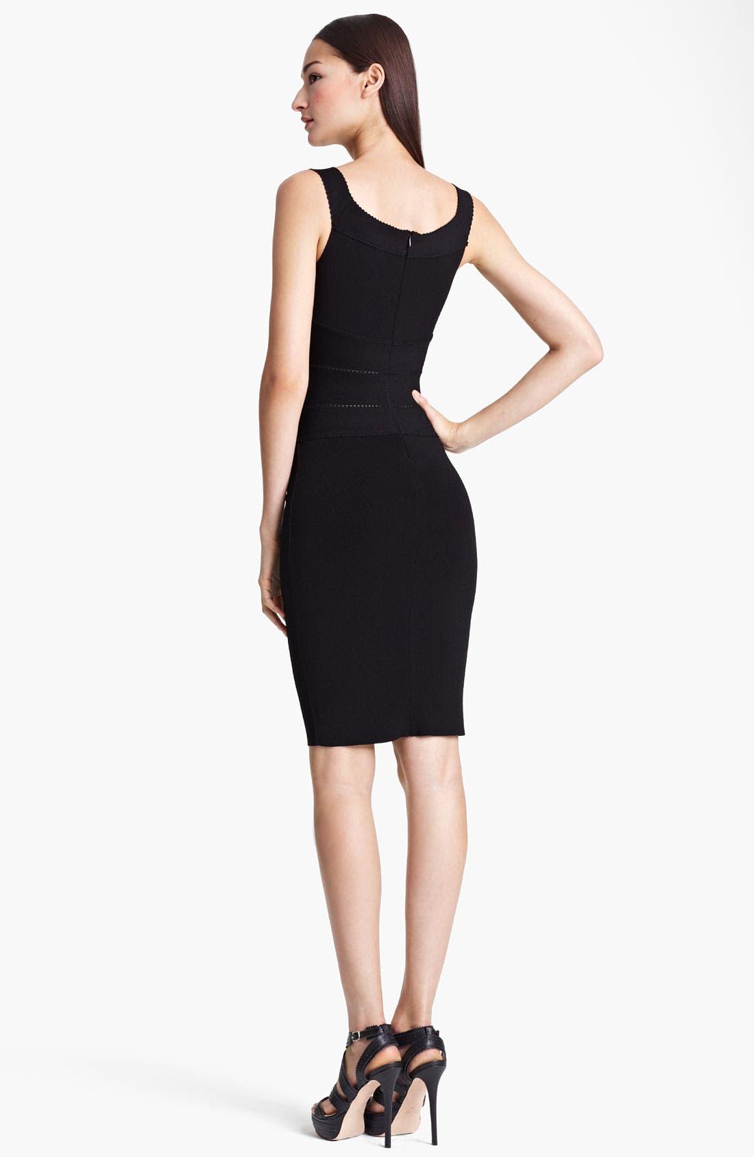 Alternate Image 2  - Blumarine Banded Jersey Dress