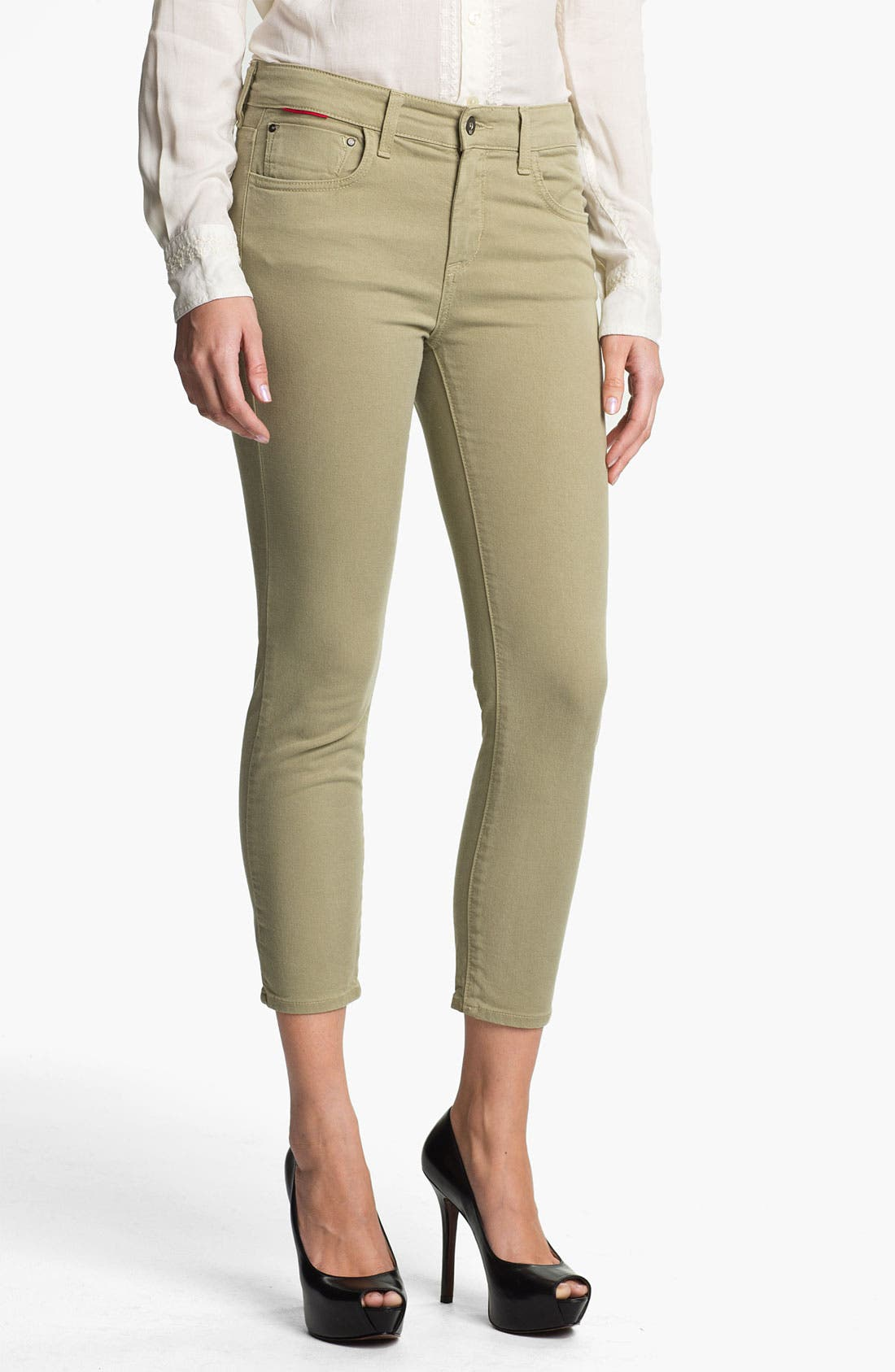 Alternate Image 1 Selected - !iT Collective Curvy Fit Crop Skinny Leg Jeans