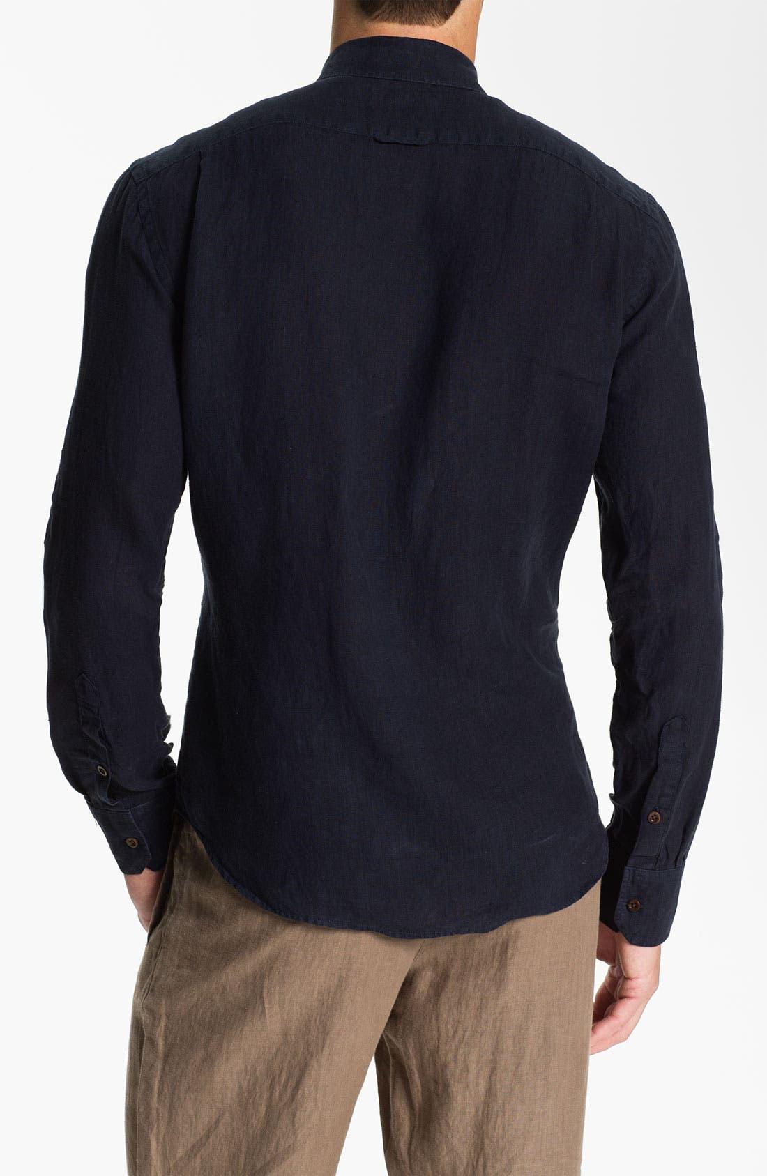 Alternate Image 2  - Vince Woven Linen Shirt