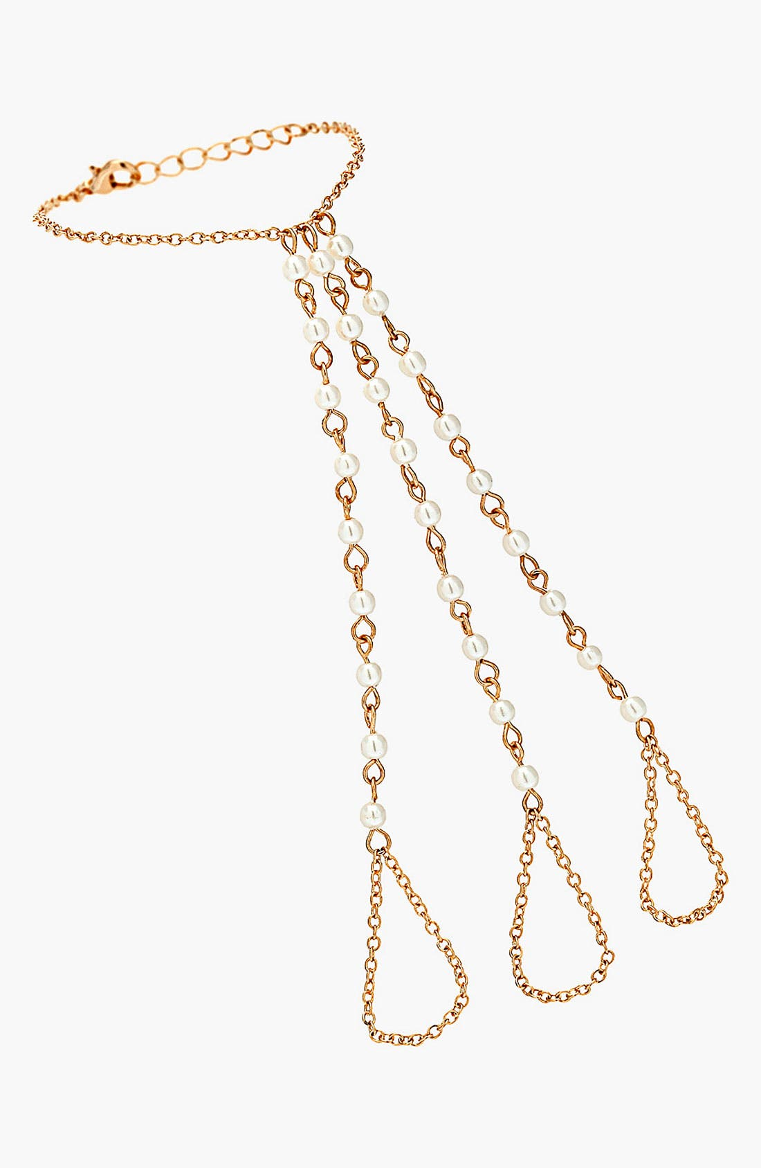 Alternate Image 1 Selected - Topshop Hand Chain