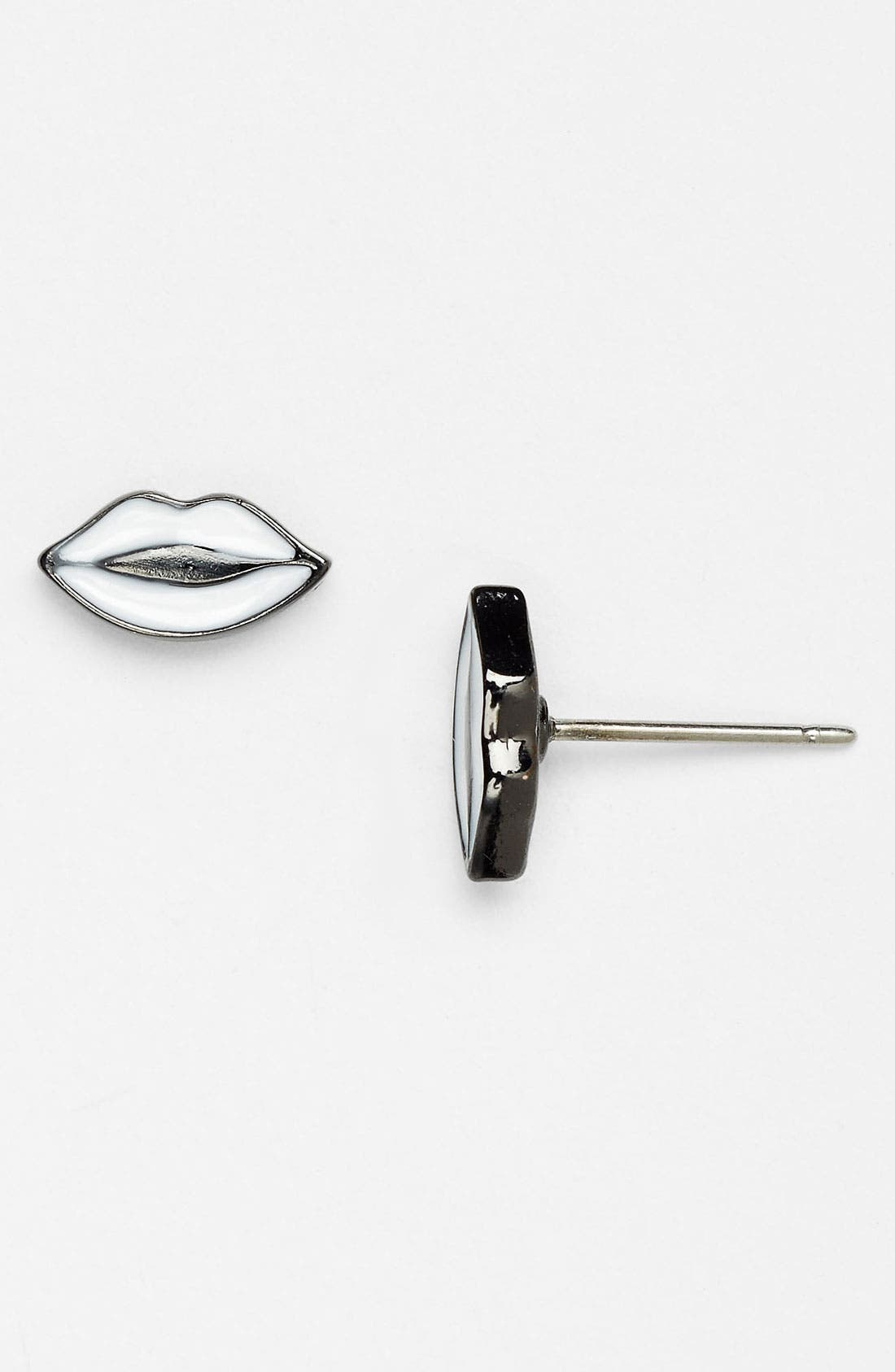 Alternate Image 1 Selected - MARC BY MARC JACOBS Lip Stud Earrings