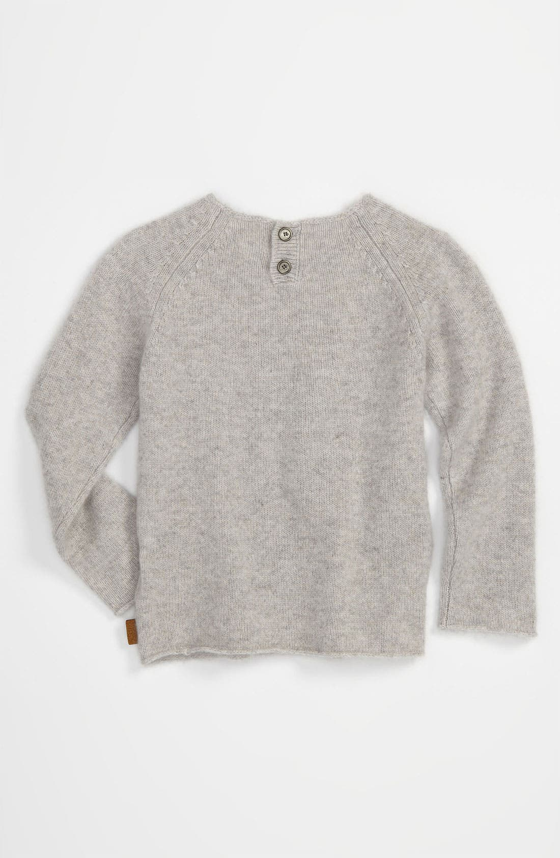 Alternate Image 2  - Burberry Cashmere Sweater (Infant)