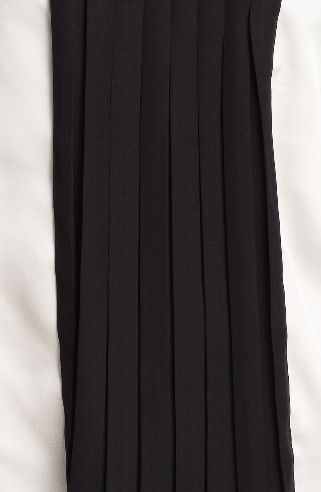 Alternate Image 3  - Vince Camuto Pleated Colorblock Shell
