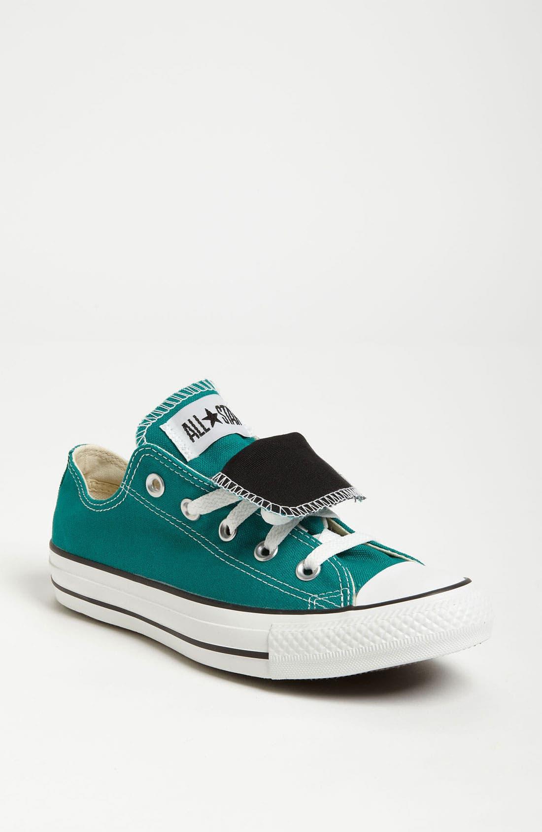 Alternate Image 1 Selected - Converse Chuck Taylor® Double Tongue Sneaker (Women)
