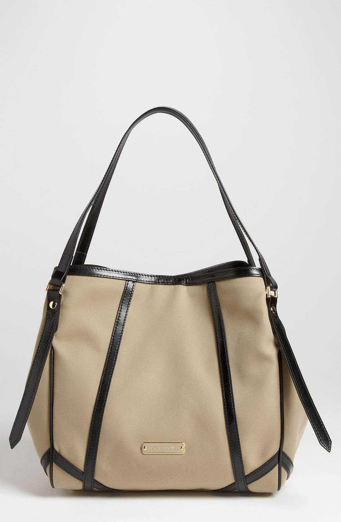 Alternate Image 1 Selected - Burberry 'Small Trench' Fabric Tote