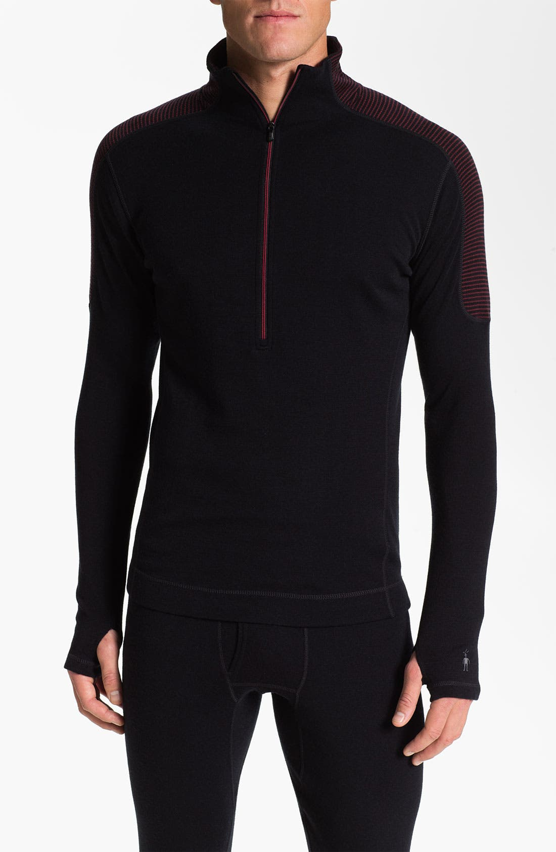 Alternate Image 1 Selected - Smartwool 'Midweight 250' Half Zip Pullover