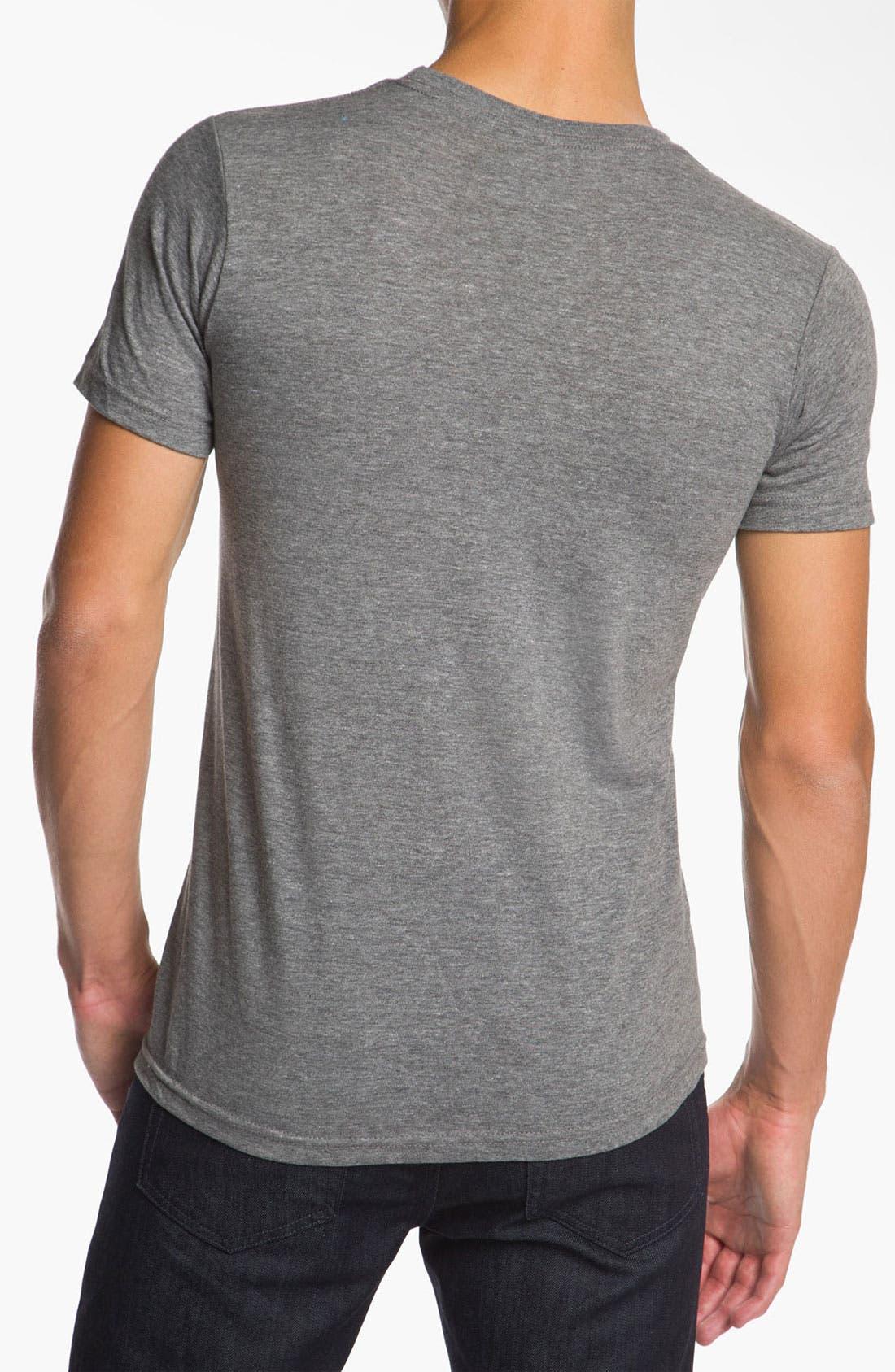 Alternate Image 2  - Ames Bros 'Bjorn to Skate' Trim Fit Crewneck T-Shirt (Men)