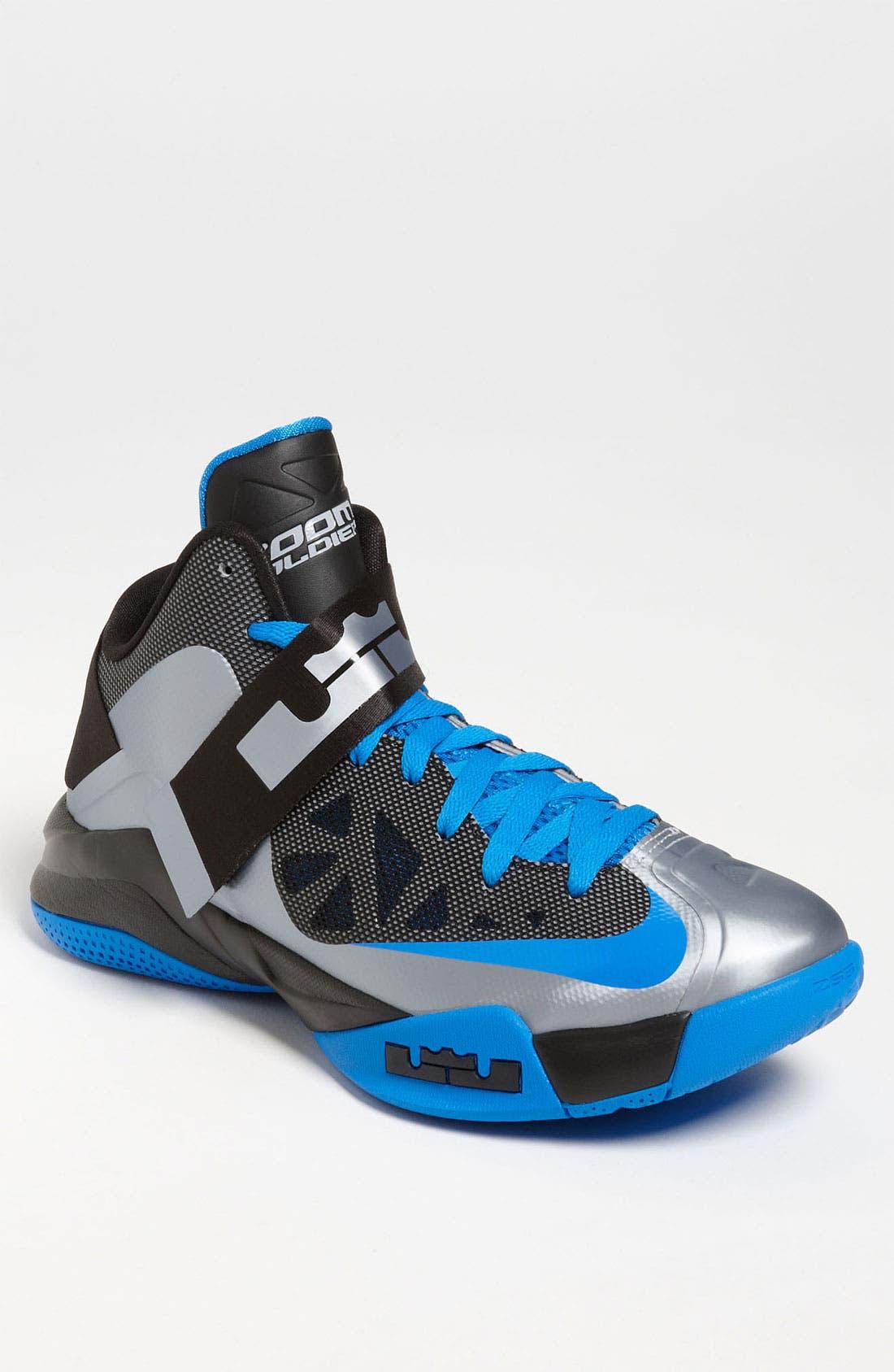 Alternate Image 1 Selected - Nike 'Zoom Soldier VI' Basketball Shoe (Men)