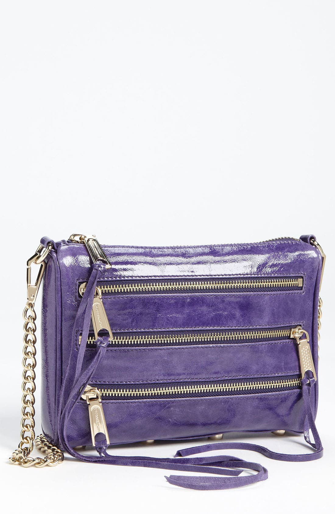Alternate Image 1 Selected - Rebecca Minkoff '5 Zip - Mini' Crossbody Bag