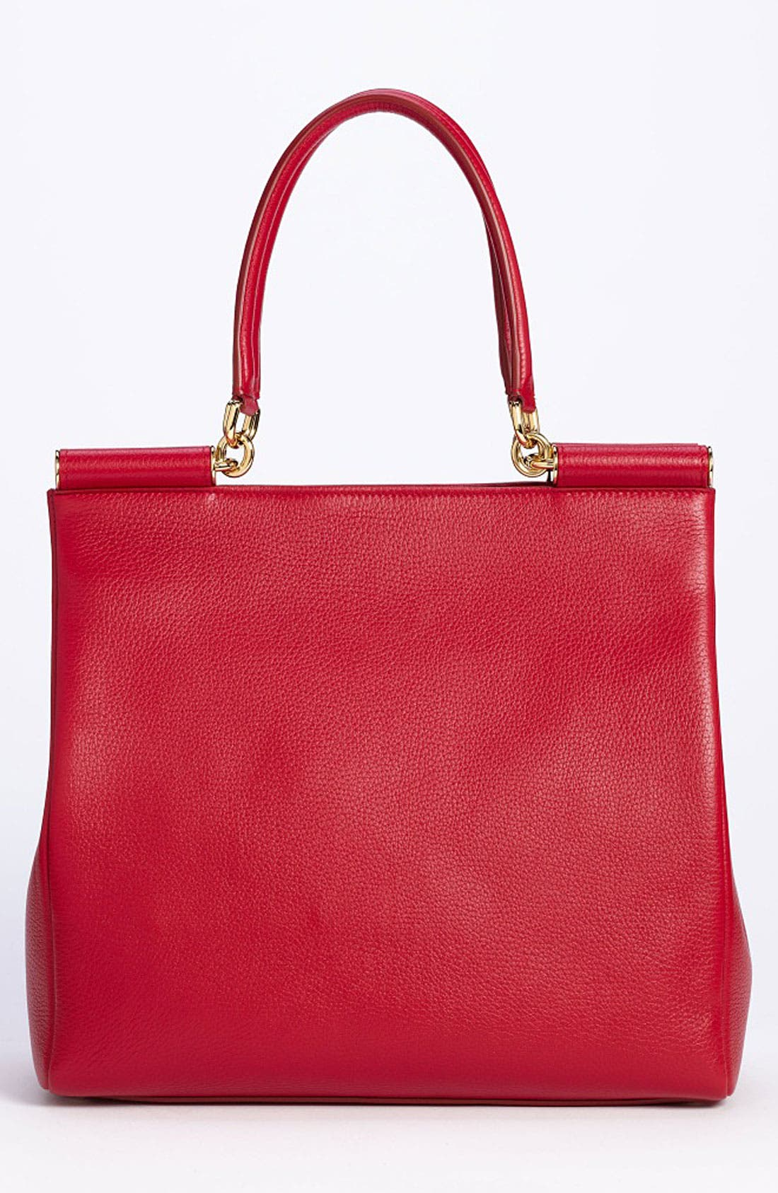 Alternate Image 4  - Dolce&Gabbana 'Miss Sicily' Leather Shopper