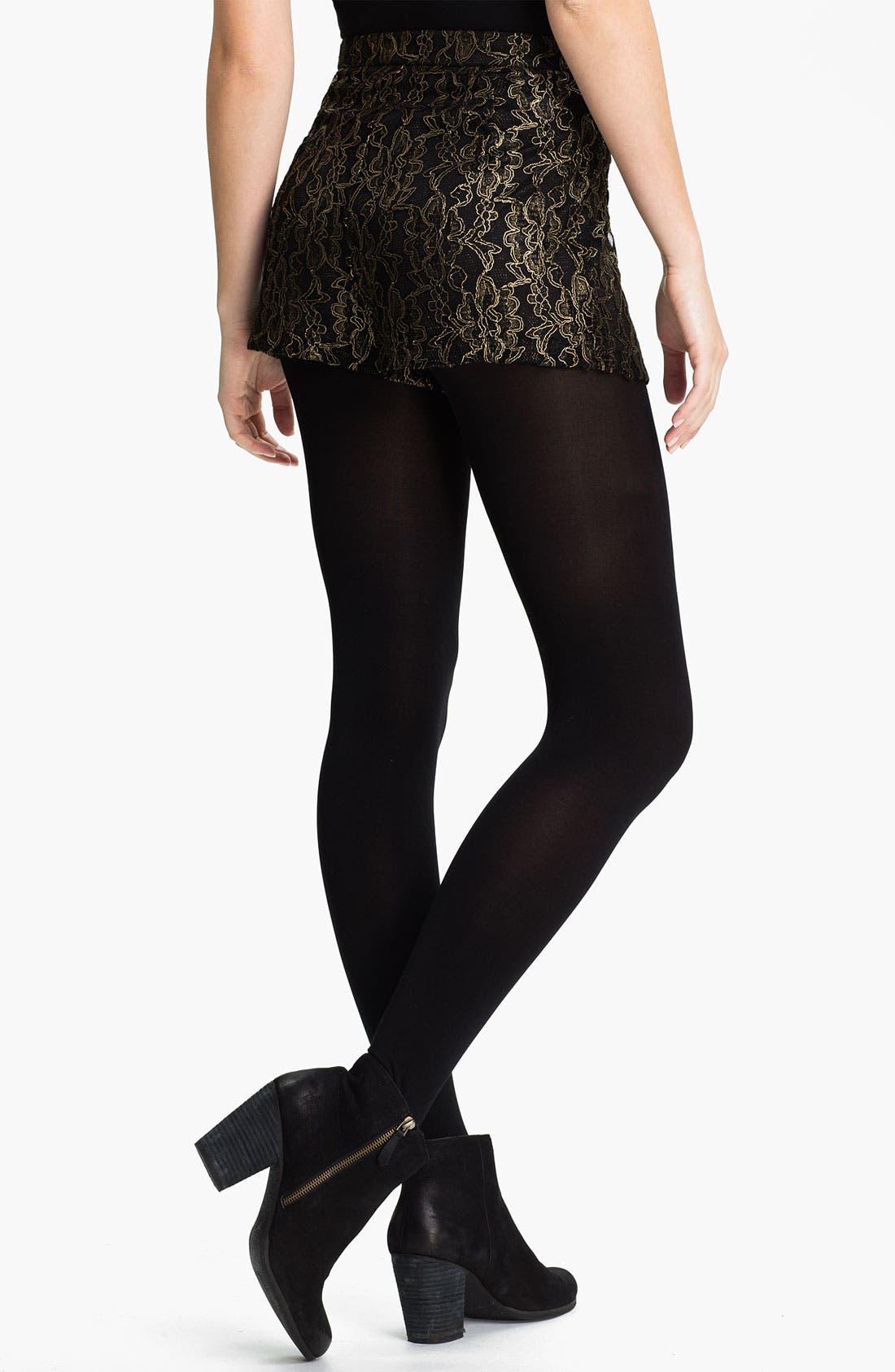 Alternate Image 2  - Lush Lace Shorts (Juniors)