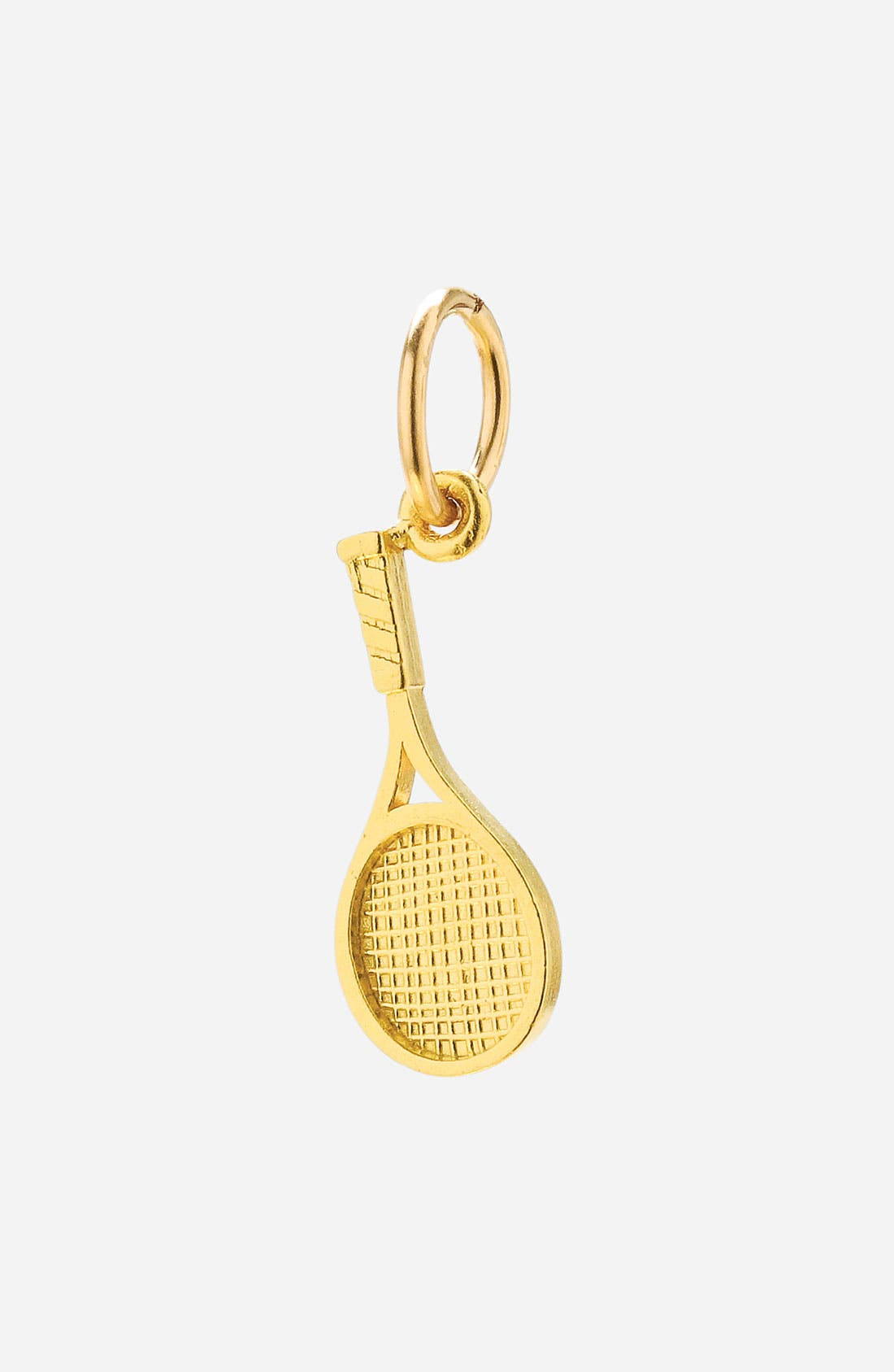 Alternate Image 1 Selected - Dogeared 'Create - Hobby' Racquet Charm