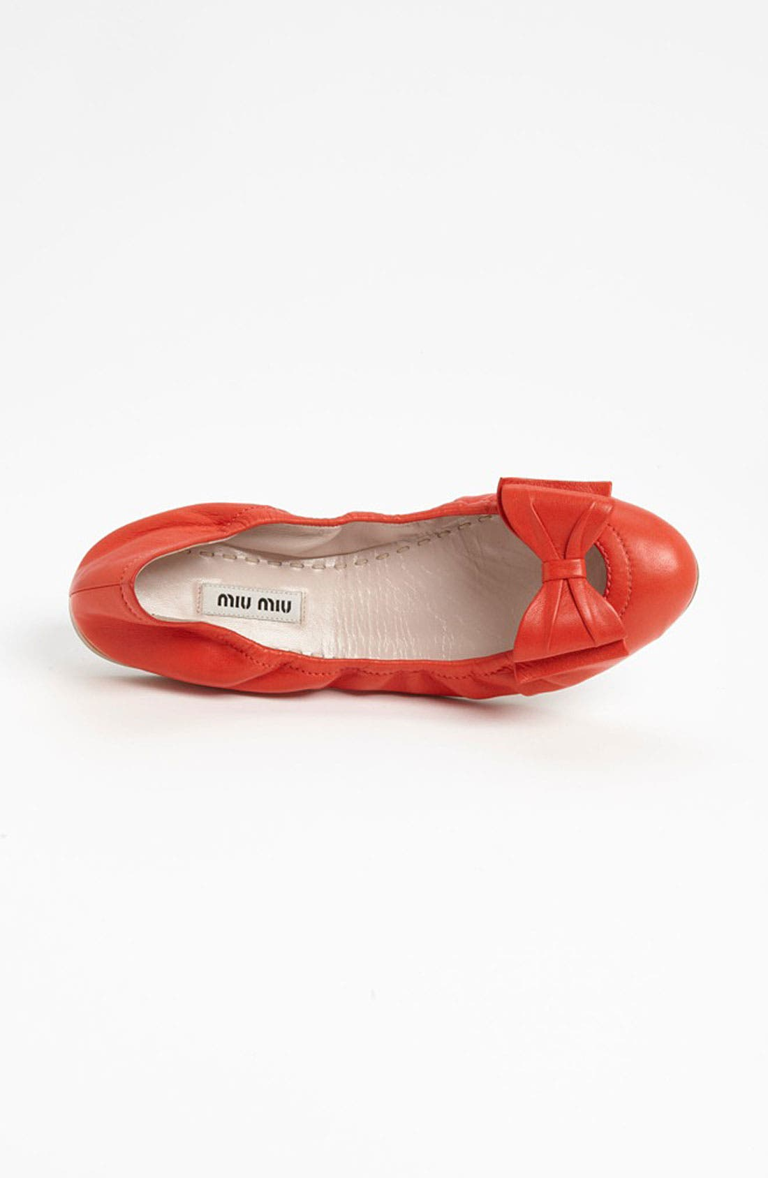 Alternate Image 3  - Miu Miu Bow Ballet Flat