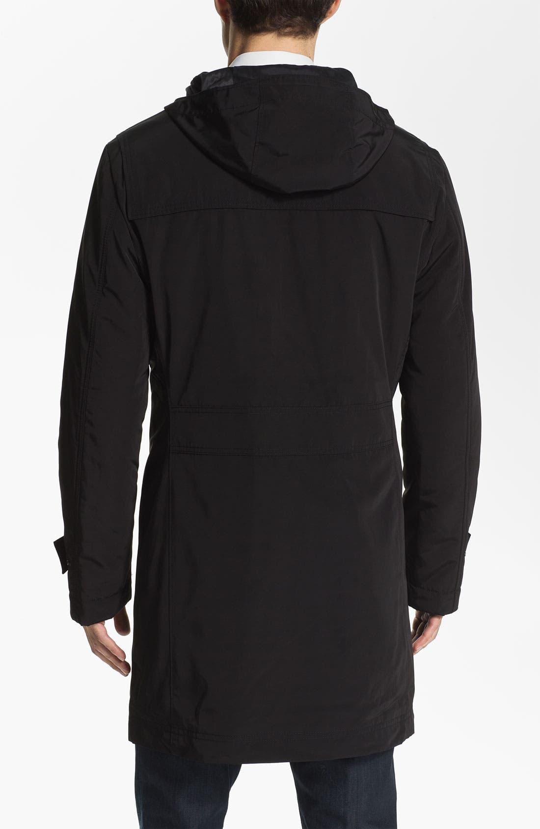 Alternate Image 2  - BOSS Black 'Glade' Wrinkle Resistant Duffle Coat