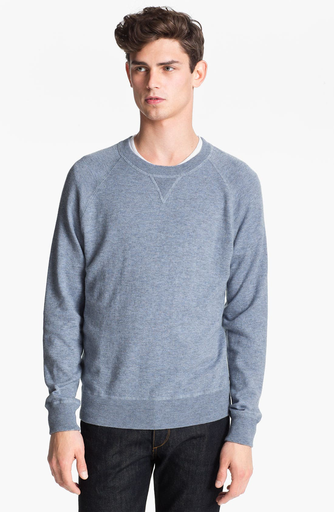 Alternate Image 1 Selected - Cardigan by Lynne Hiriak 'Dean' French Terry Crewneck Sweatshirt