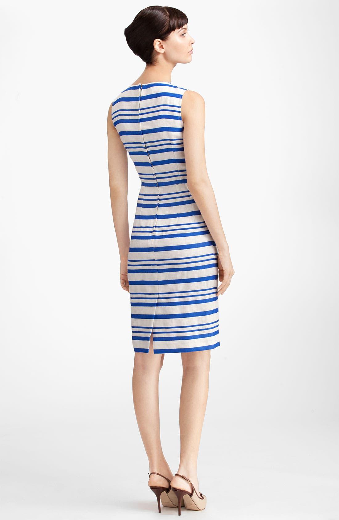 Alternate Image 2  - Dolce&Gabbana Stripe Pencil Dress