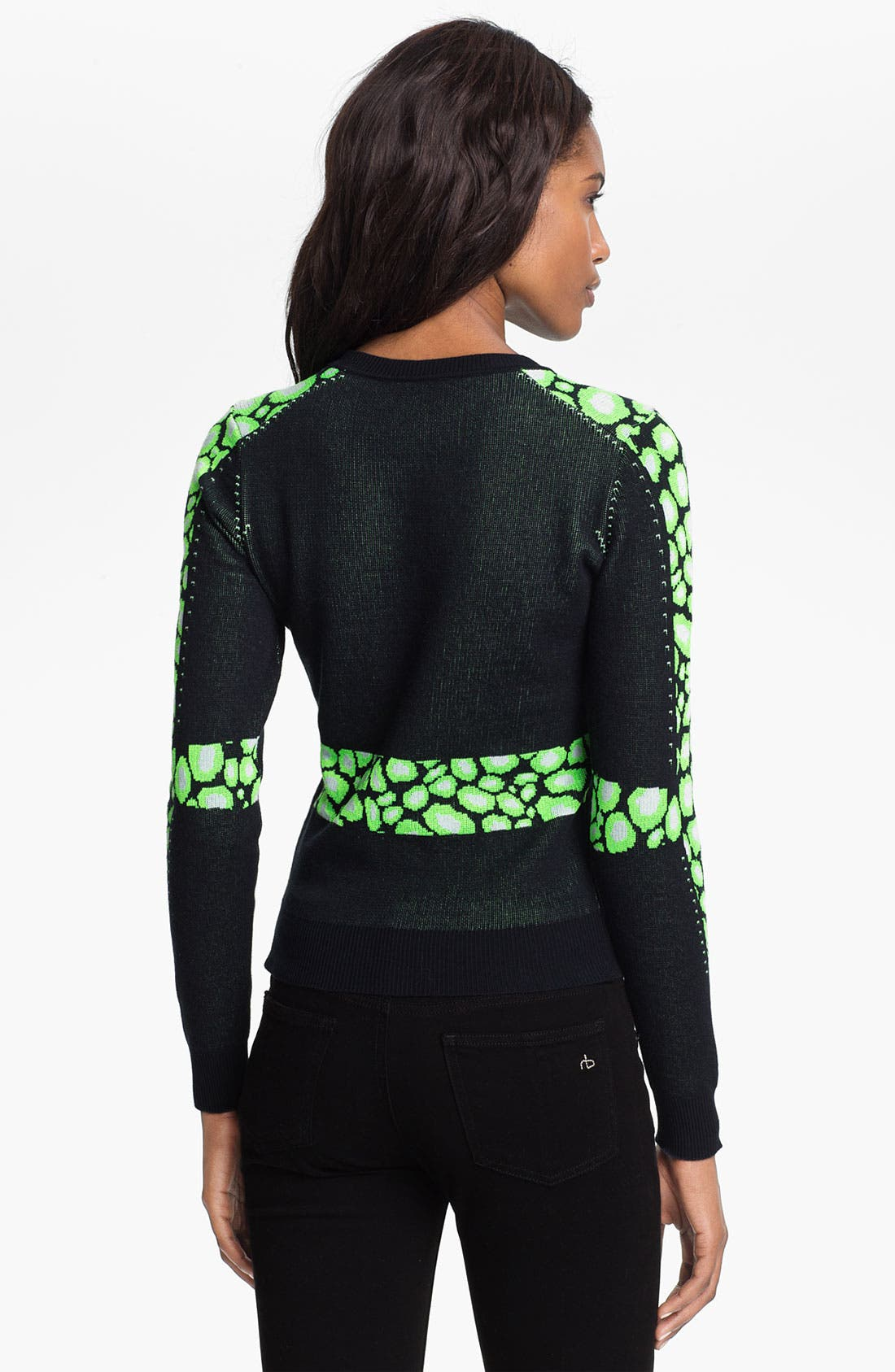 Alternate Image 2  - KENZO Leopard Jacquard Sweater