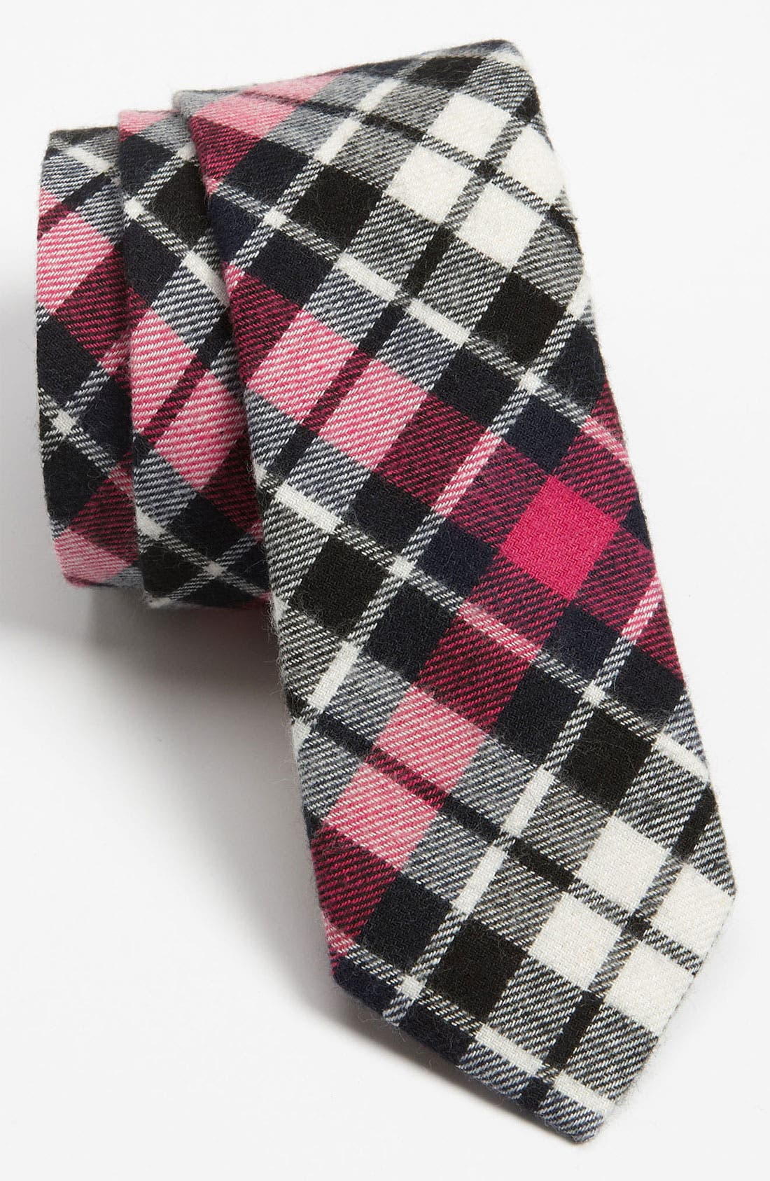 Main Image - The Tie Bar Woven Cotton Tie (Online Exclusive)