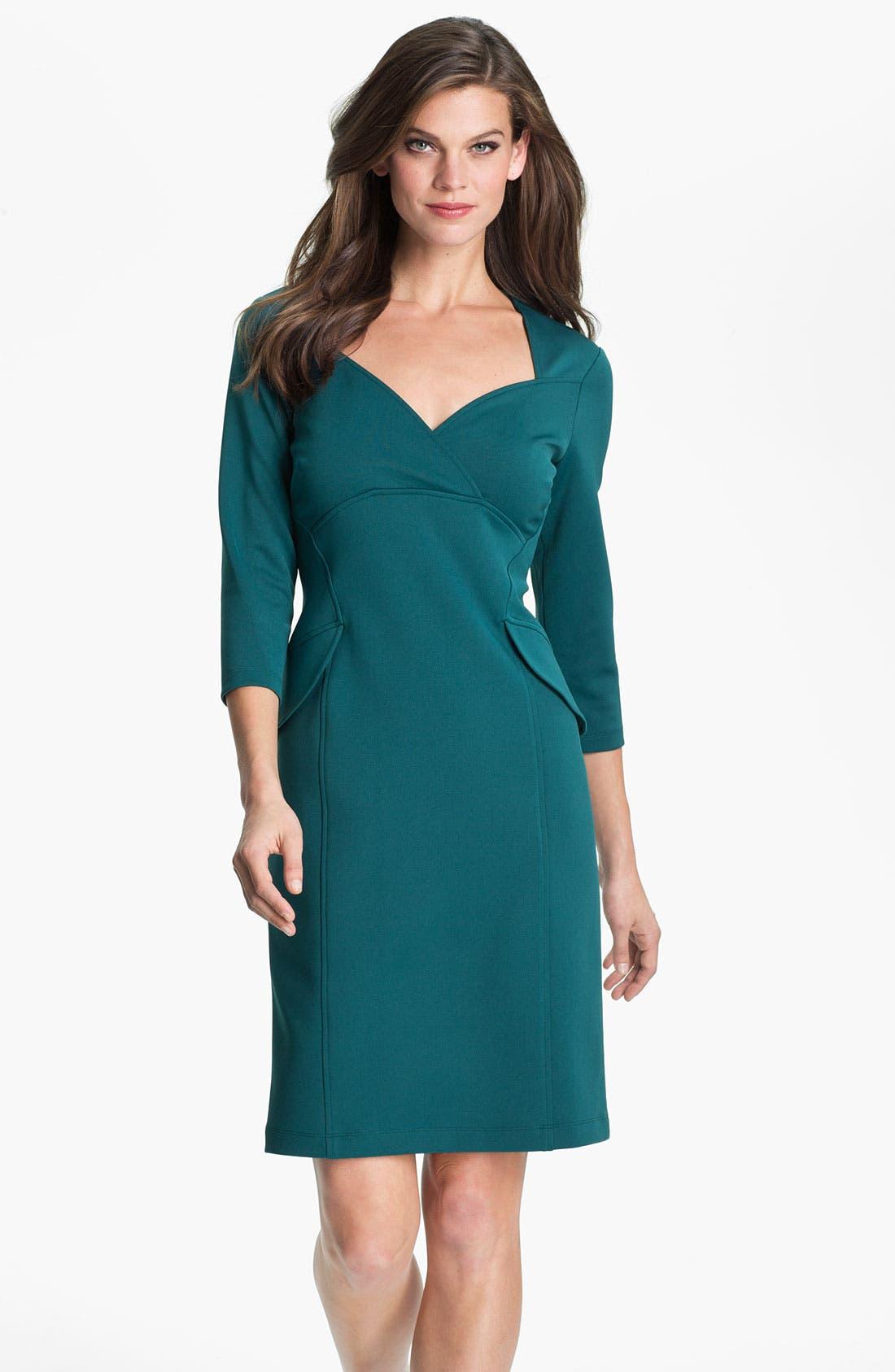 Main Image - Maggy London Side Peplum Sheath Dress