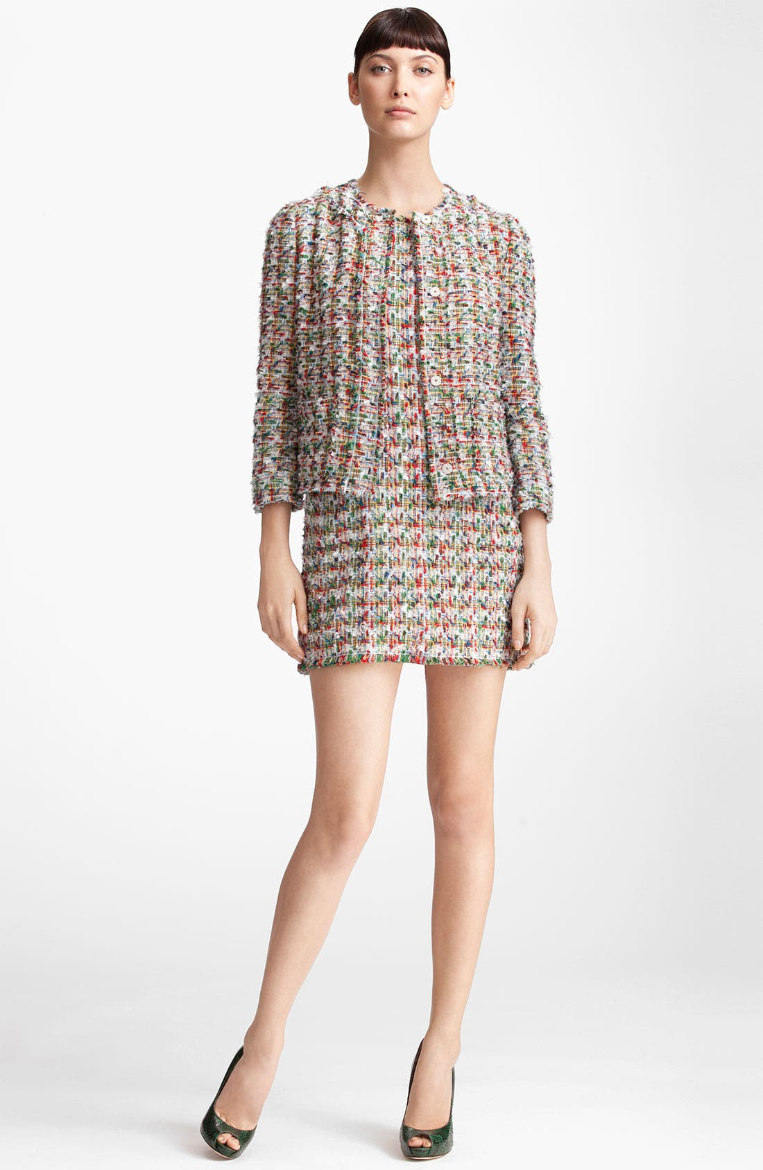 Alternate Image 1 Selected - Dolce&Gabbana Tweed Jacket