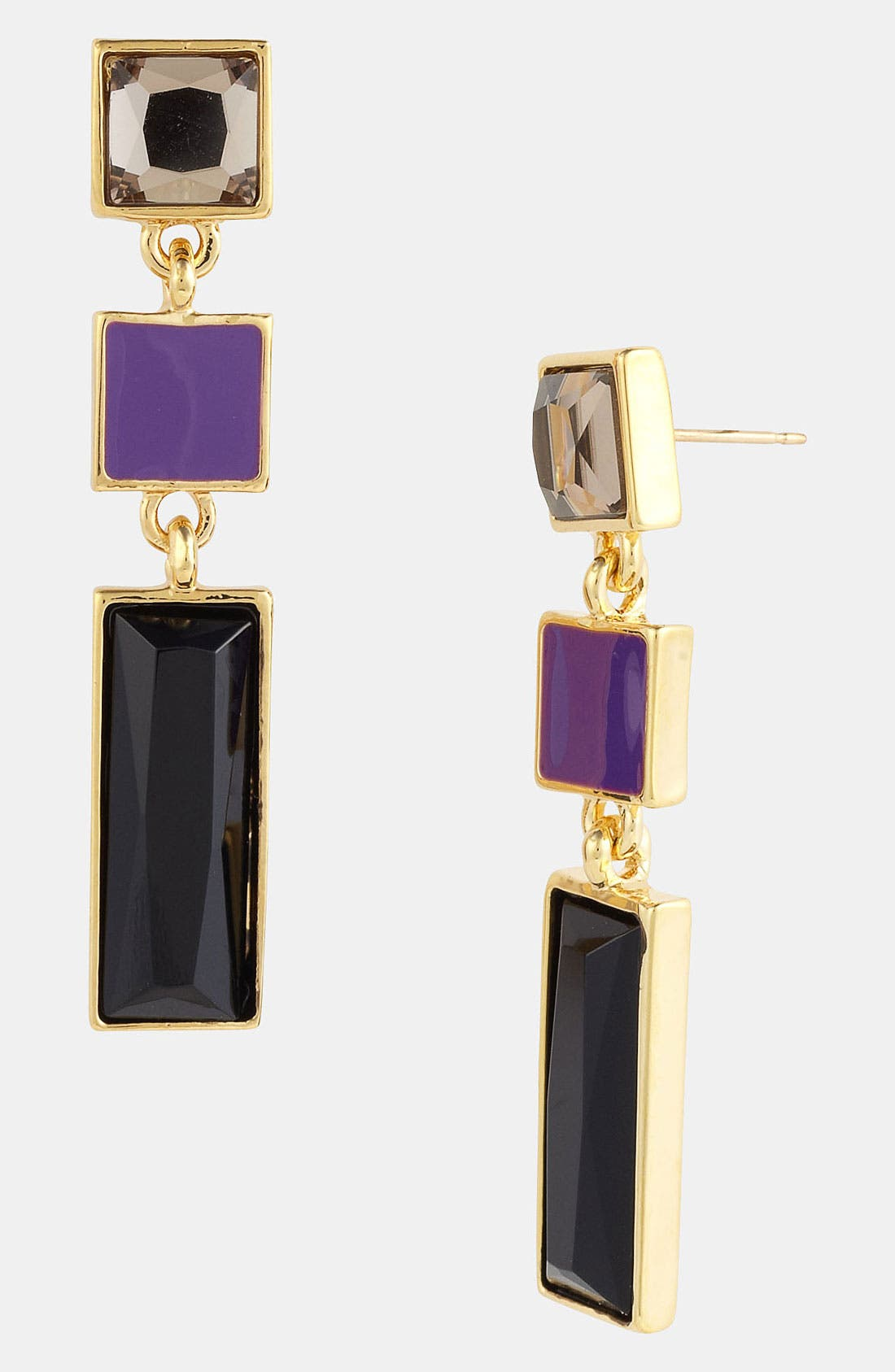 Alternate Image 1 Selected - kate spade new york 'steps' linear earrings