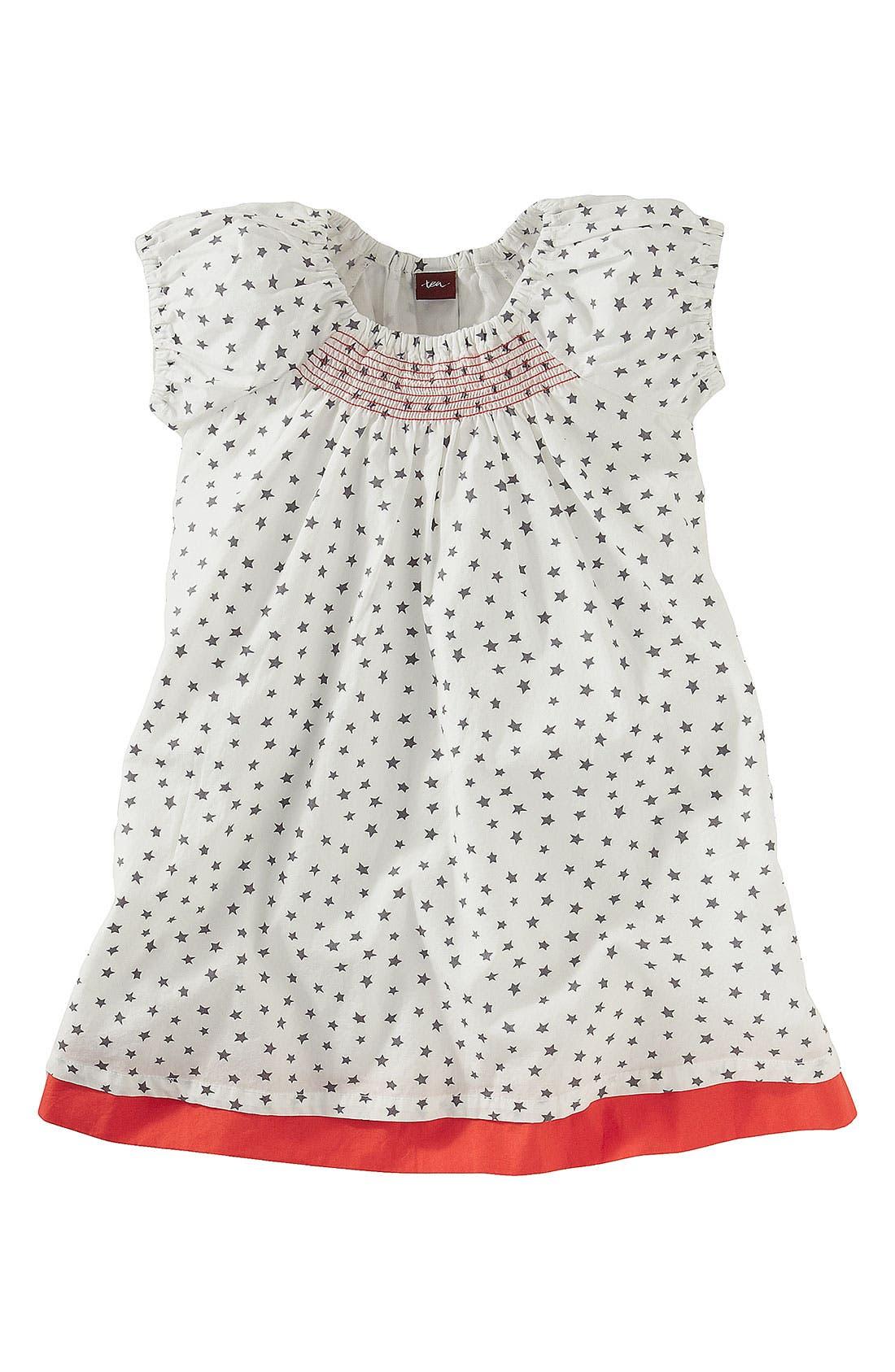 Alternate Image 1 Selected - Tea Collection Smocked Dress (Toddler)