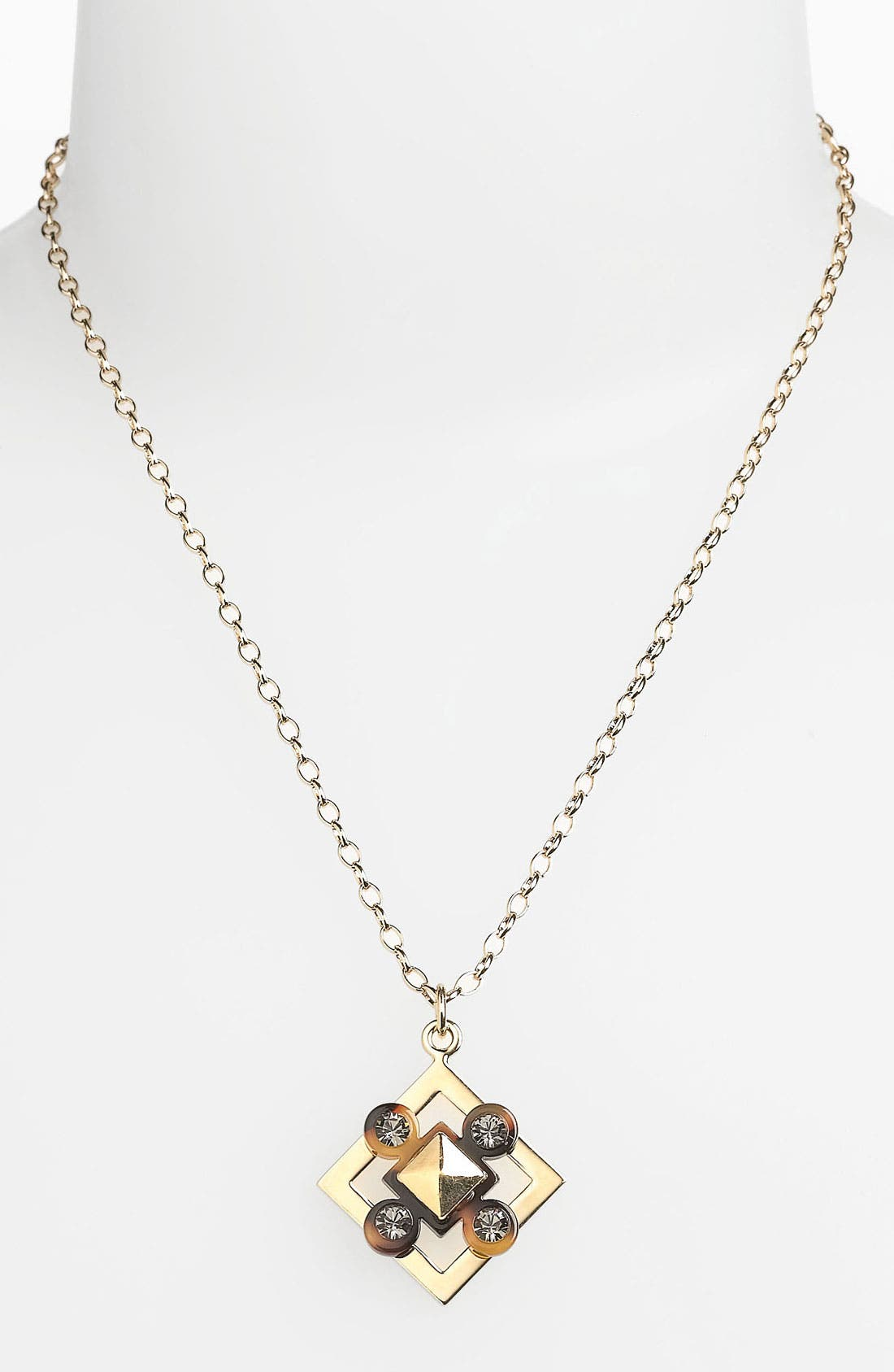 Alternate Image 1 Selected - Tory Burch Pendant Necklace