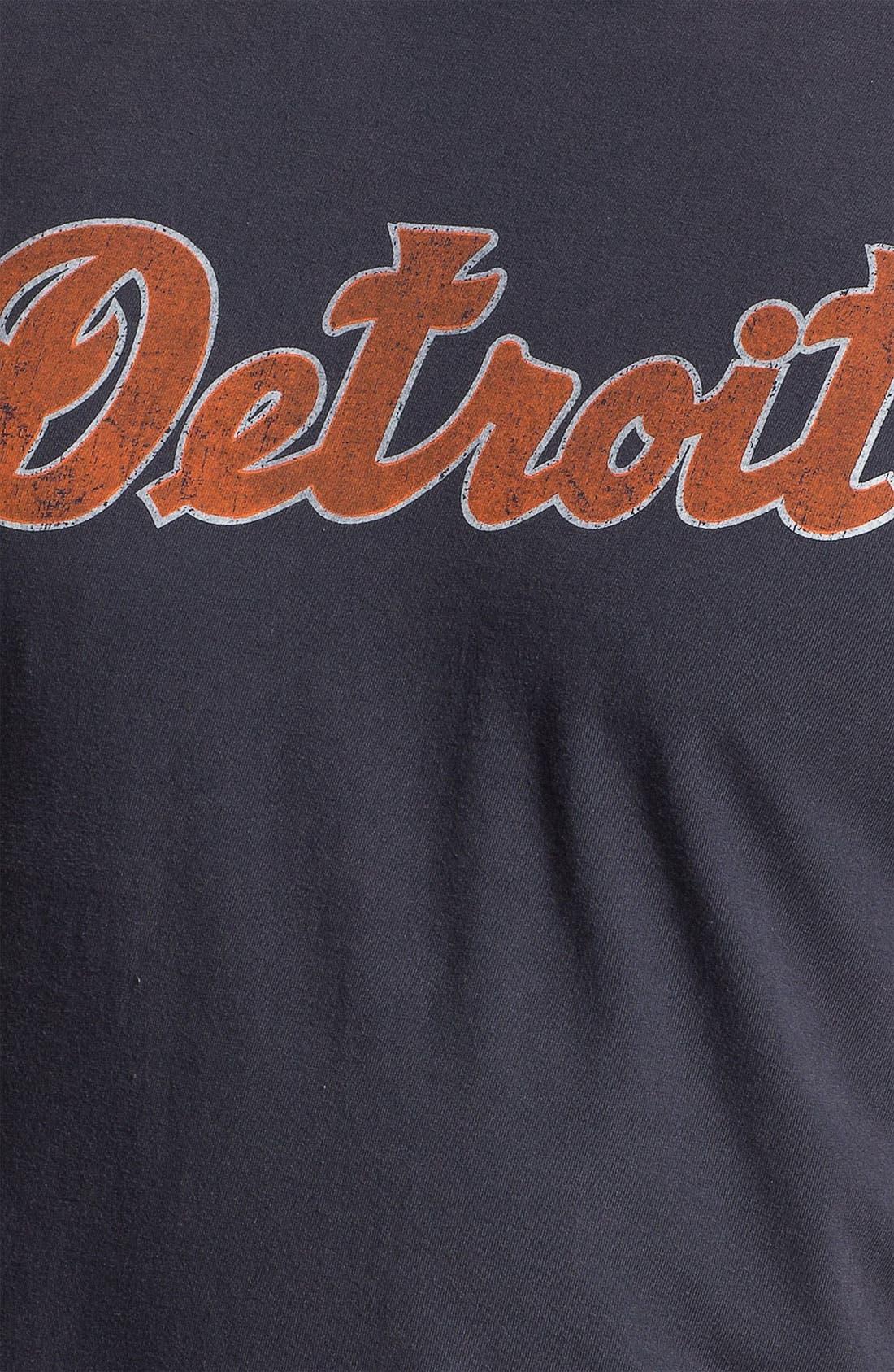 Alternate Image 3  - Red Jacket 'Detroit Tigers' Trim Fit Ringer T-Shirt (Men)