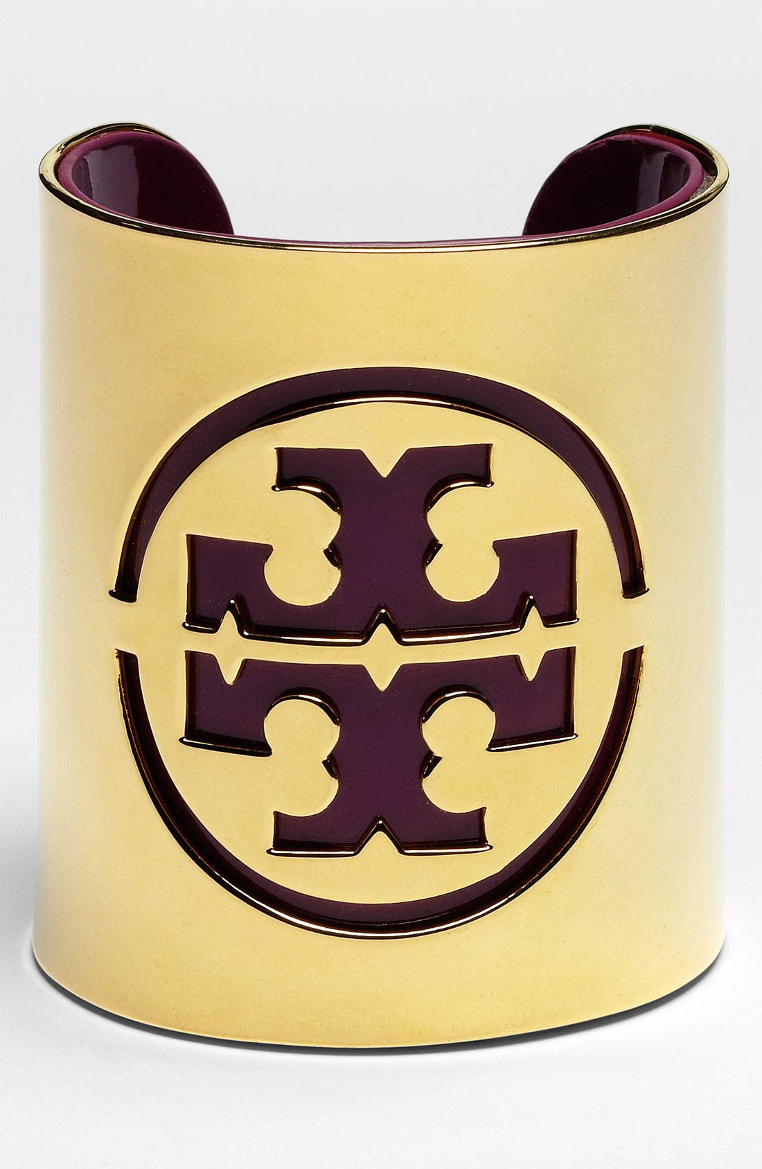 Alternate Image 1 Selected - Tory Burch Logo Stencil Cuff